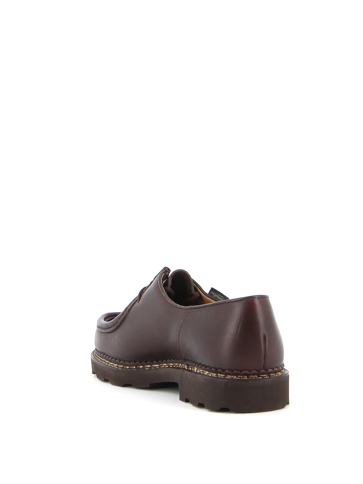 Laceups shoes ParabootMichael leather laceups715612CAFE
