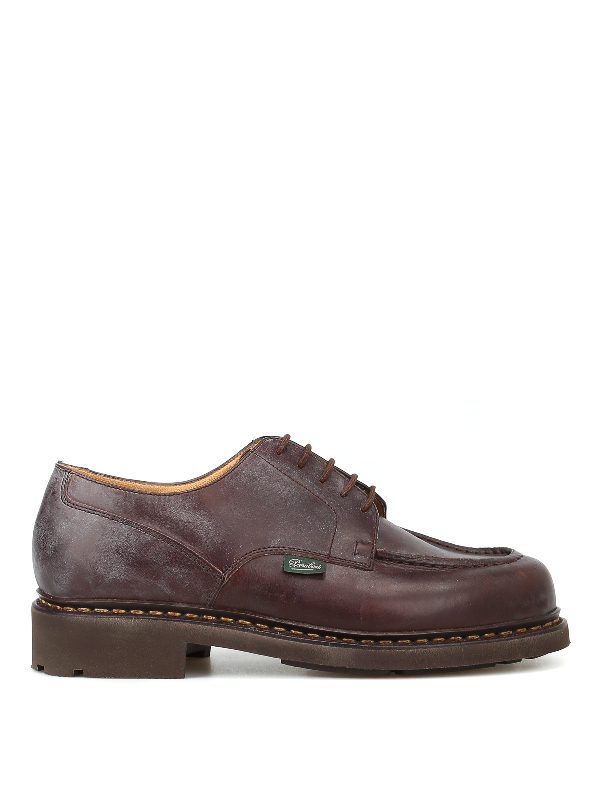 Paraboot  CHAMBORD  VINTAGE LEATHER LACE-UP SHOES