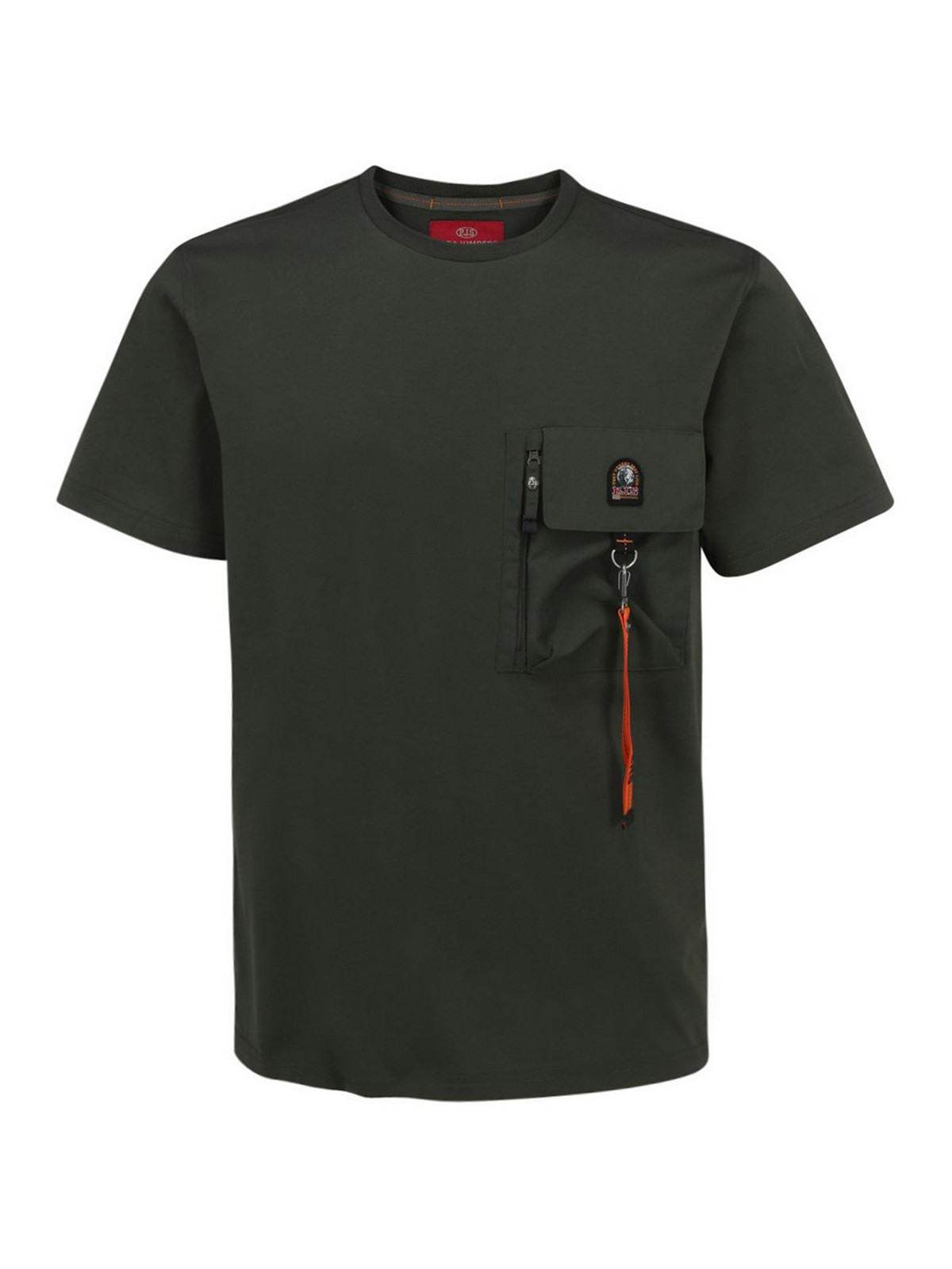 Parajumpers Cottons MOJAVE COTTON T-SHIRT WITH HOOK