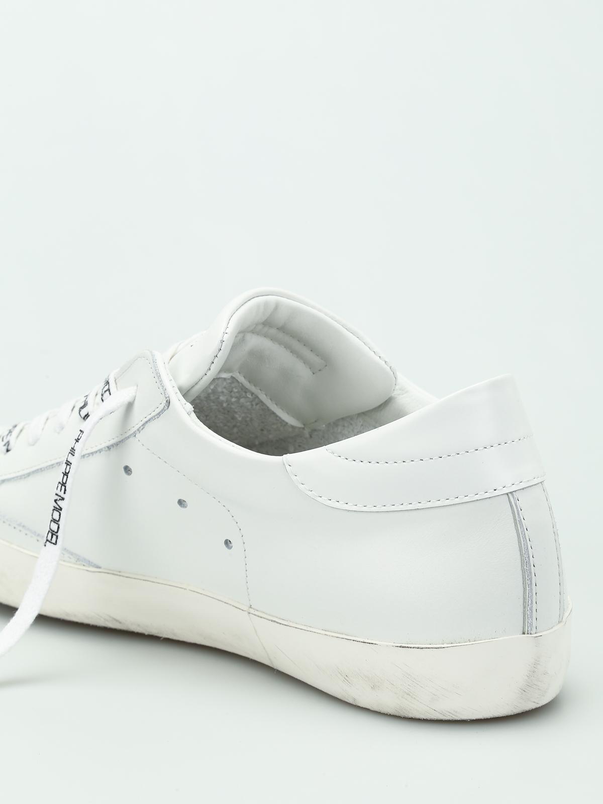 Paris Philippe Model Cllu Sneakers 1001 Laces Logo Trainers RqznBwP5