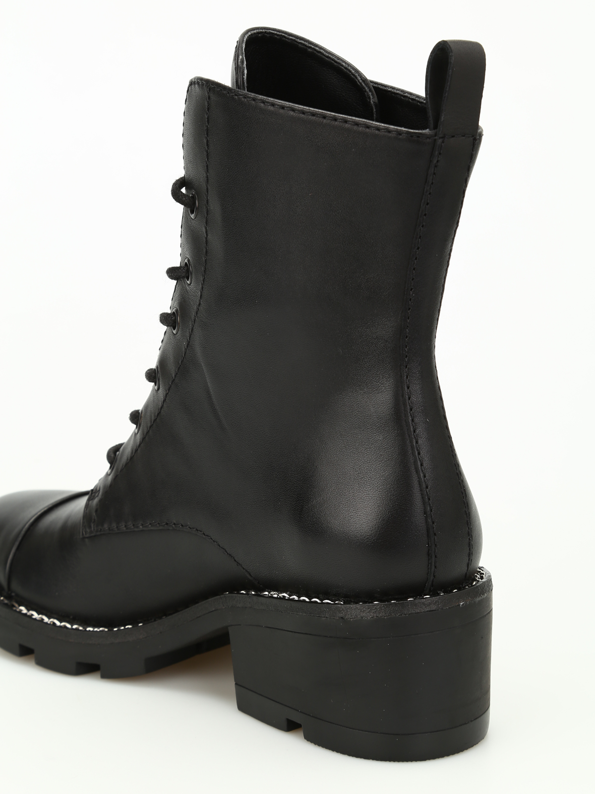 Botines KENDALL & KYLIE PARQUE B BLACK LEATHER