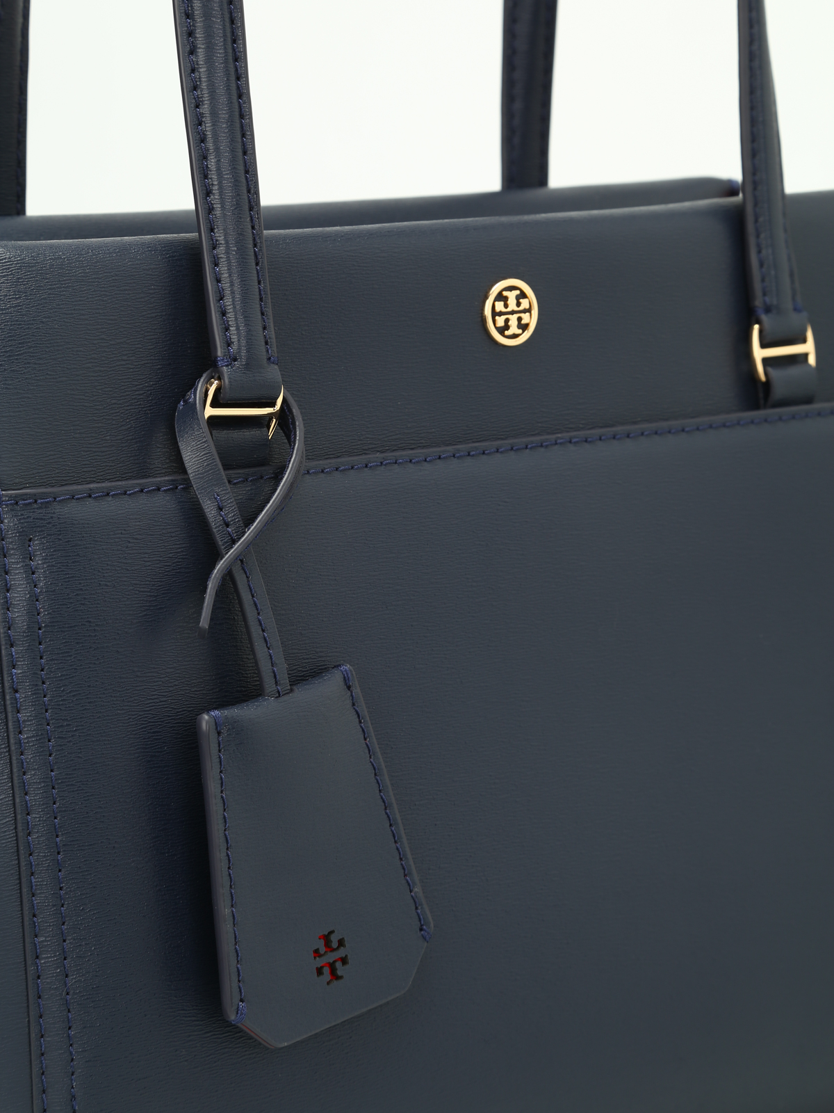 36df5b26a68d Tory Burch - Parker navy small tote - totes bags - 37744480
