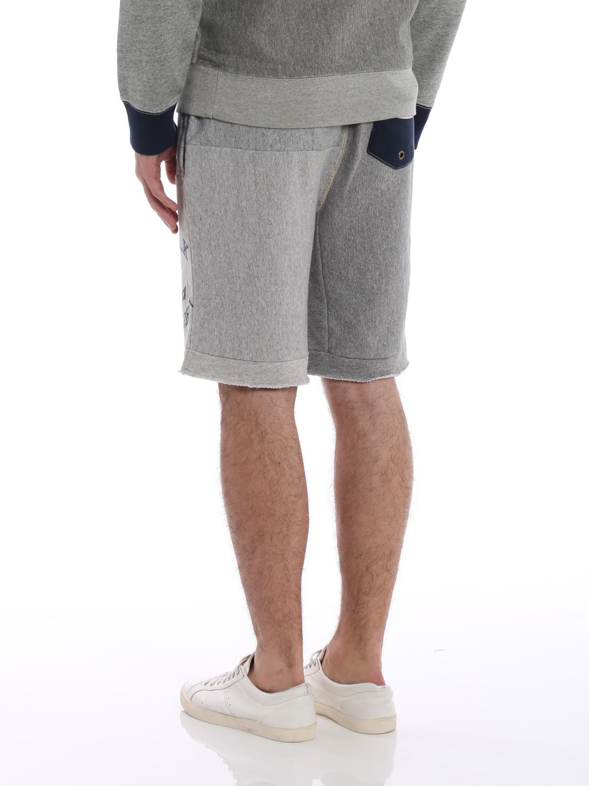 04ea3cea4f5 ... tracksuit bottoms - Patch detailed cotton shorts · Patch detailed cotton  shorts shop online  POLO RALPH LAUREN