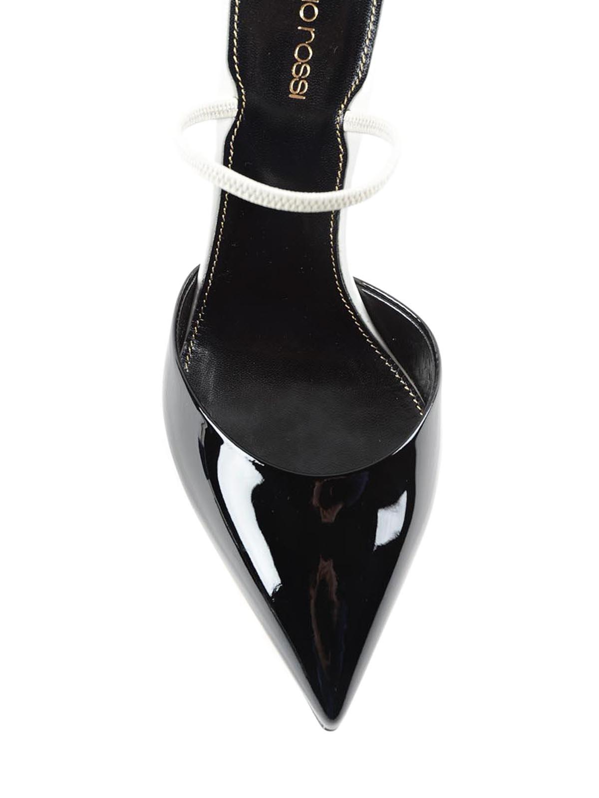 45e195edf848d Sergio Rossi - Patent leather stiletto mules - mules shoes - A73271 ...
