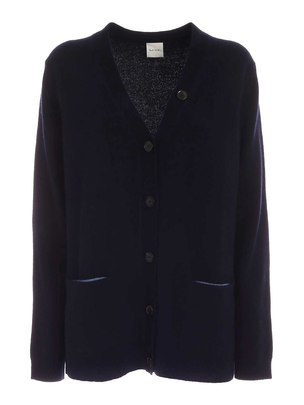 Paul Smith POCKETS CARDIGAN IN BLUE