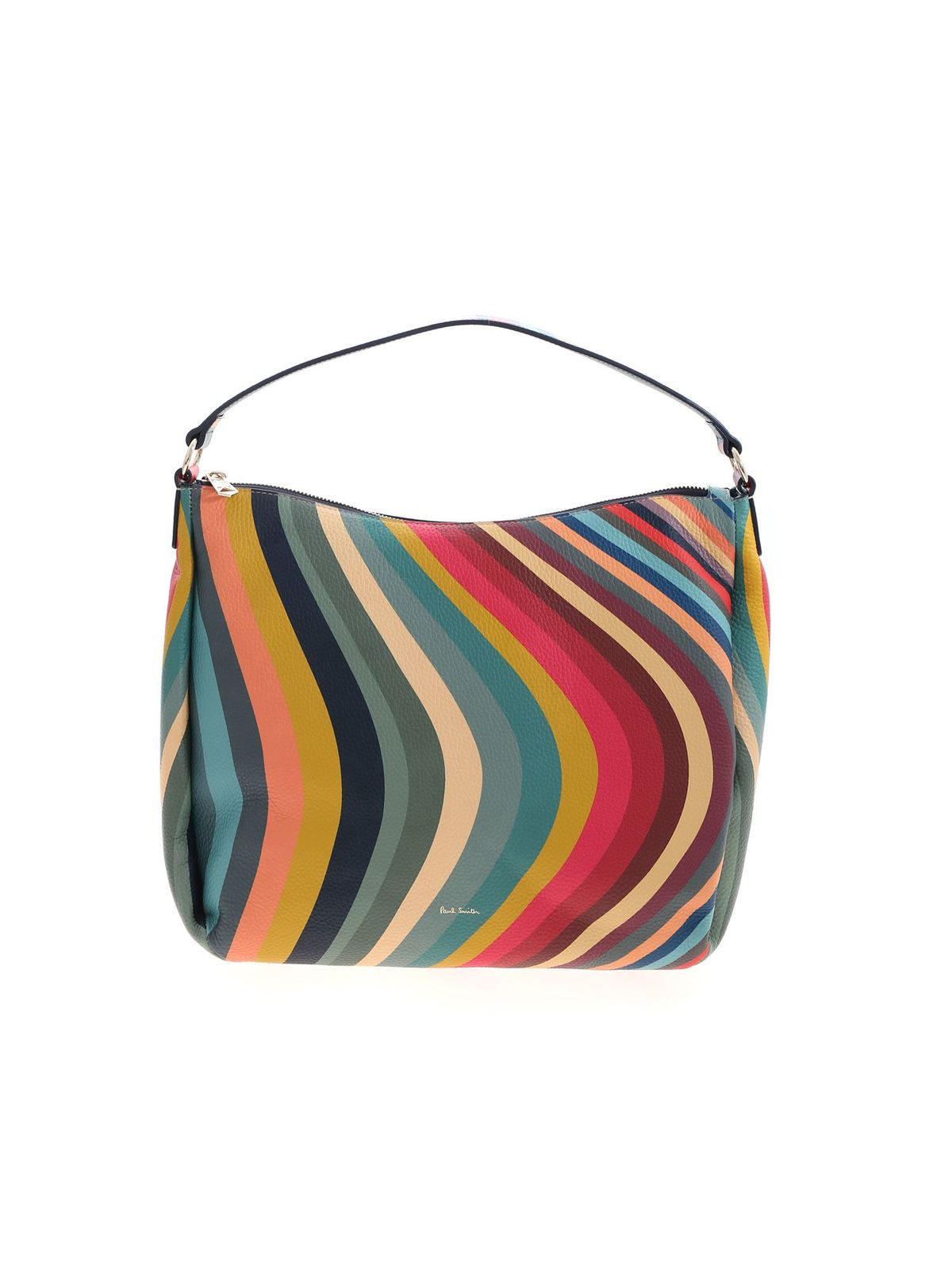 Paul Smith MULTICOLOR SWIRL PRINT BAG