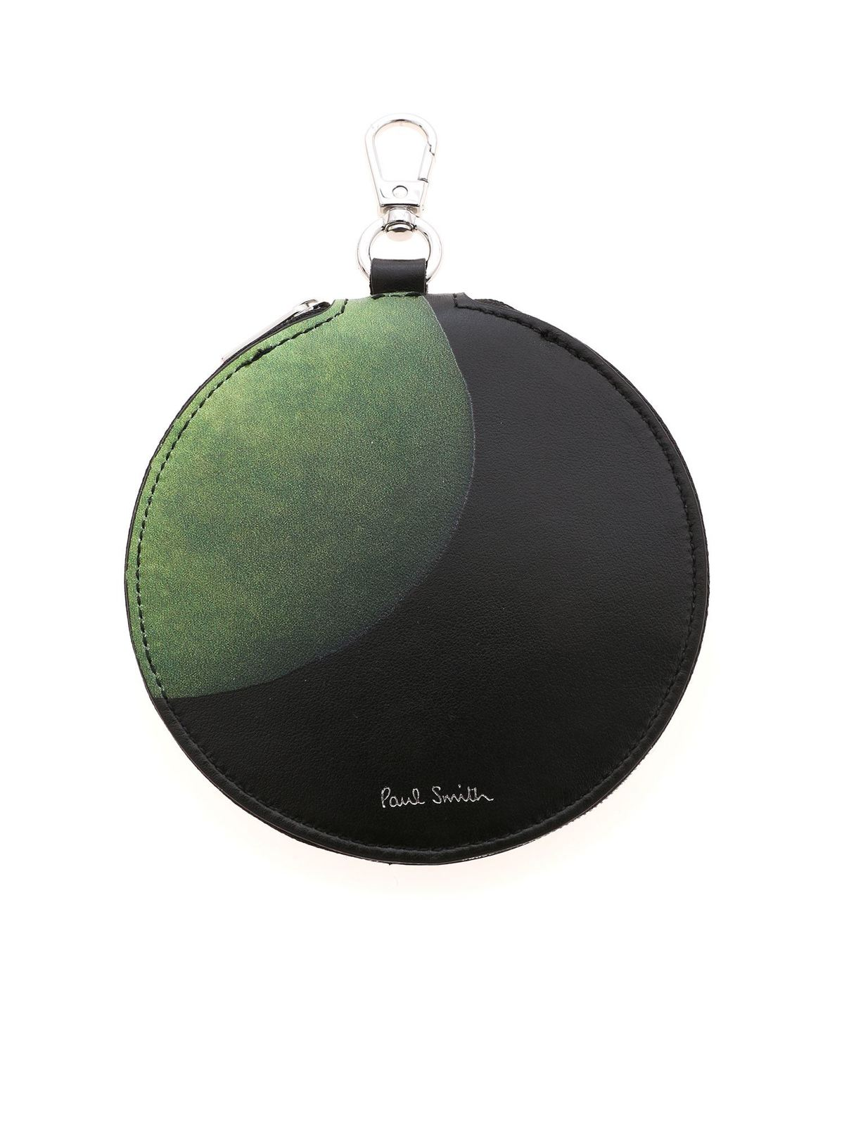 Paul Smith APPLE PRINT COIN PURSE IN BLACK
