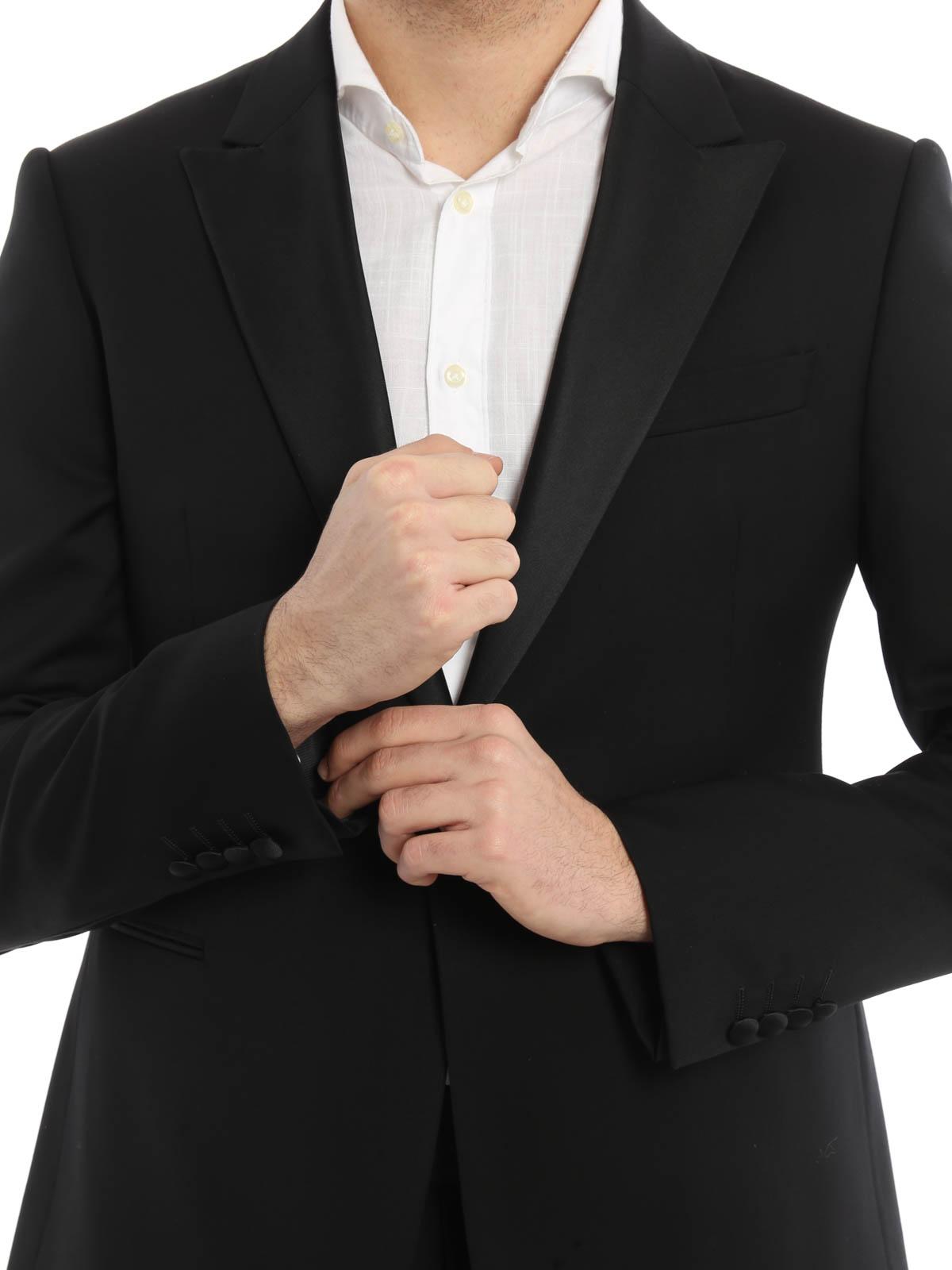Armani Collezioni - Costume Noir Pour Homme - Costumes de soirée ... 04102390fcb