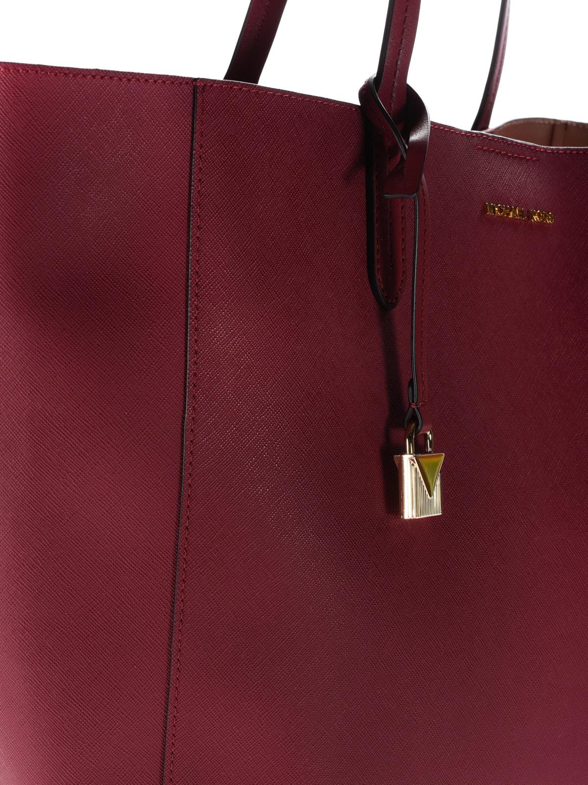 91fbf6731c30 Michael Kors - Penny coated twill convertible bag - totes bags ...