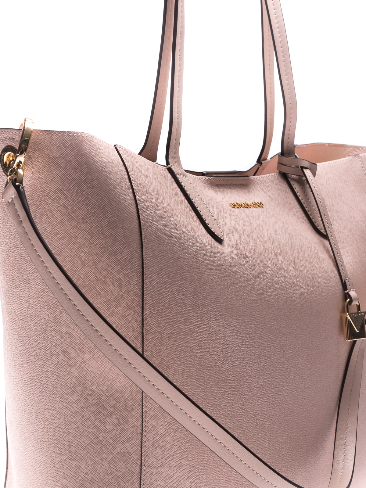 77096c715946 6fb49def03b6 Michael Kors - Penny convertible pink twill tote - totes bags  .. ...