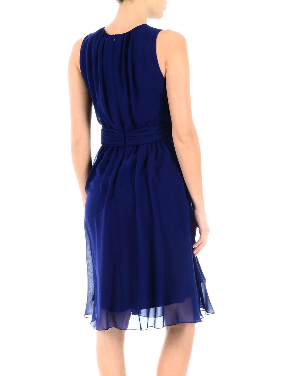 Electric blue Penny dress Max Mara mmb2PpW0X