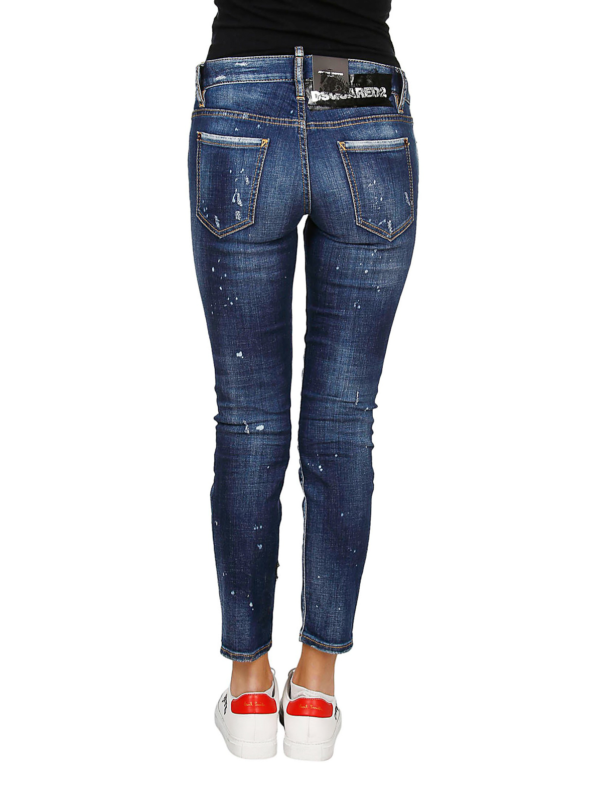 53aa277d80f Dsquared2 - Perfection Jennifer crop jeans - skinny jeans ...