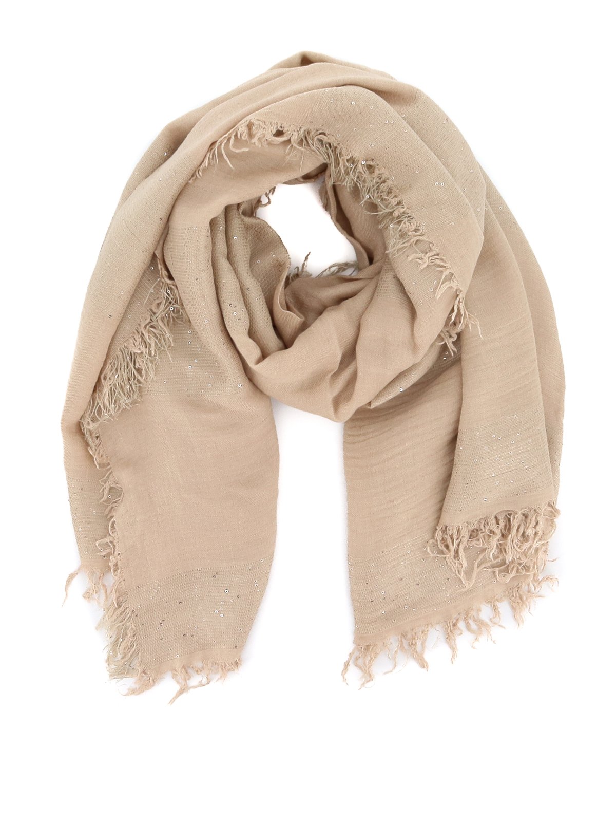 Peserico Scarves SEQUINED SCARF