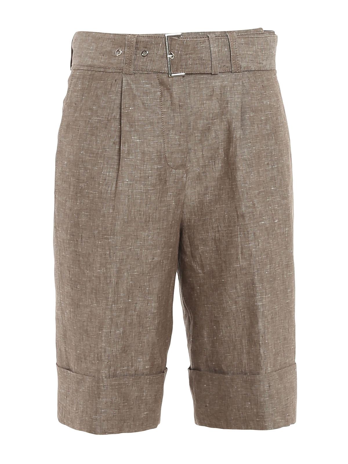 Peserico Shorts HANDMADE SARTORIAL SHORTS
