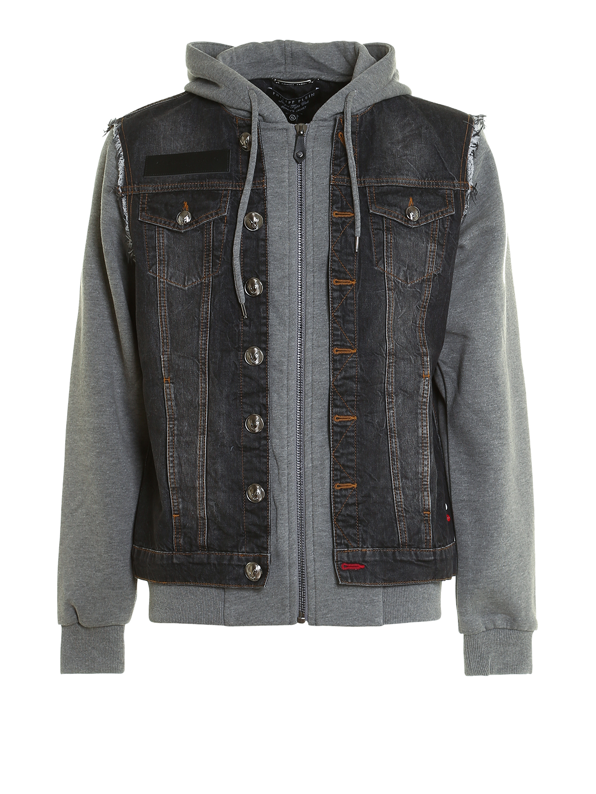 Shop ASOS Denim Jacket With Jersey Sleeves at ASOS. Discover fashion online.