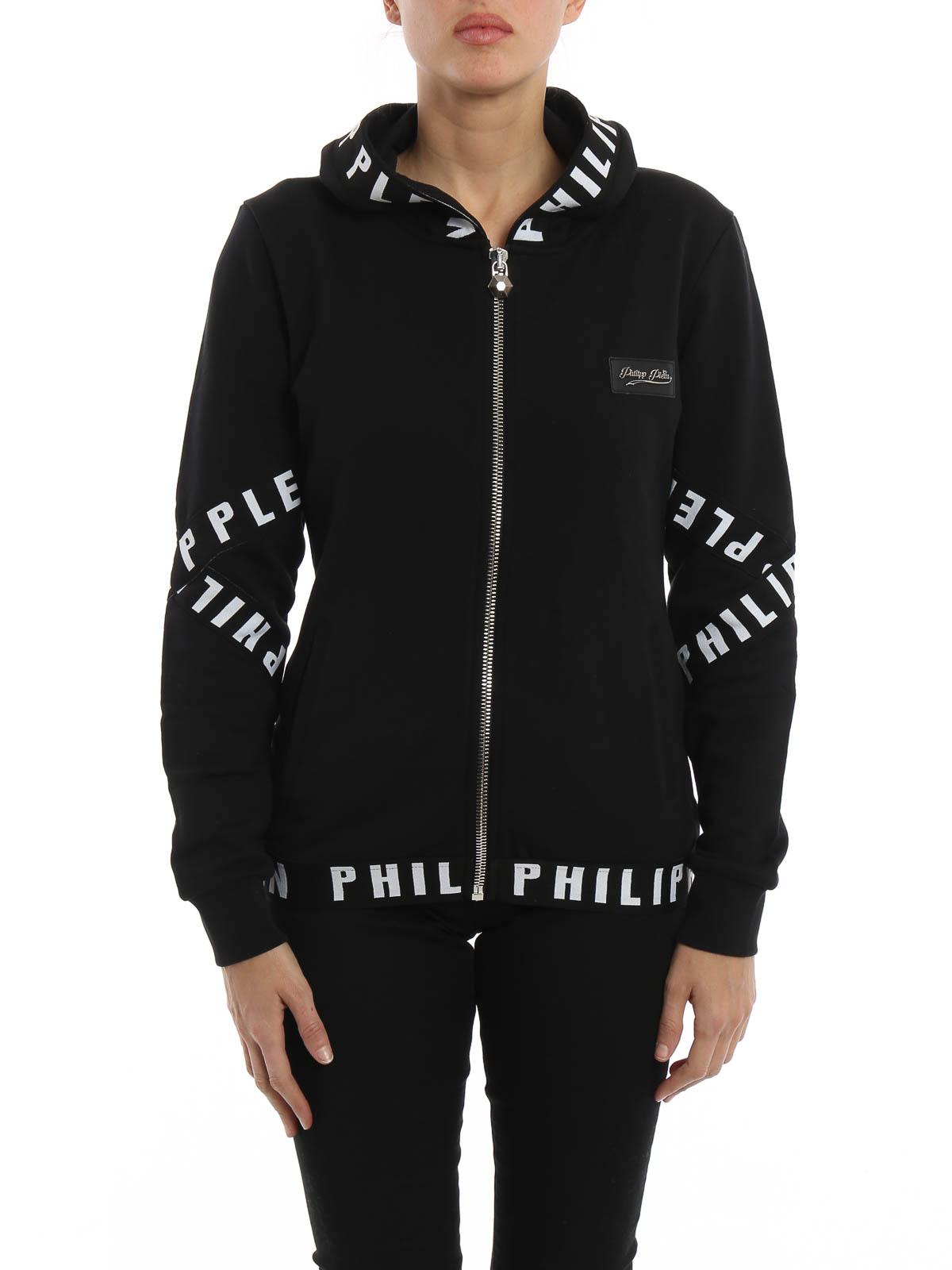 Felpa E Maglie Zip Philipp Plein Con Felpe Monifieth Cappuccio I7vbgYf6y