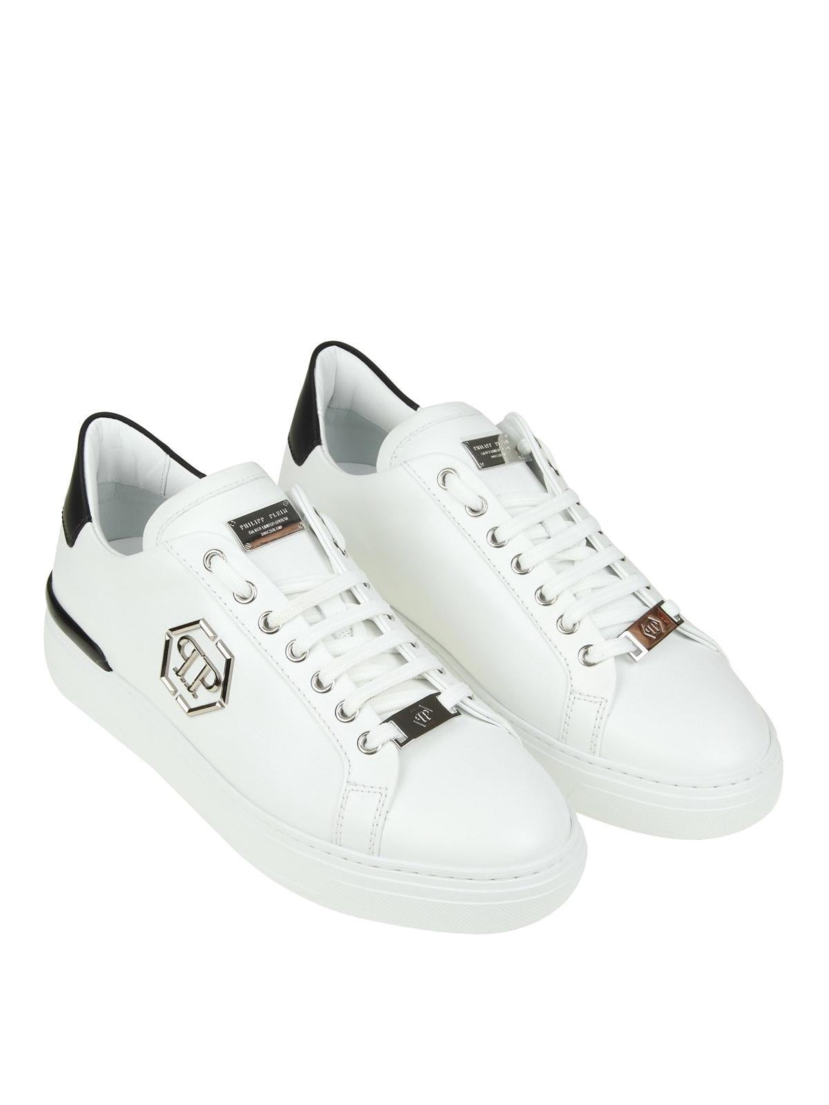 Philipp Plein - Caribou white sneakers