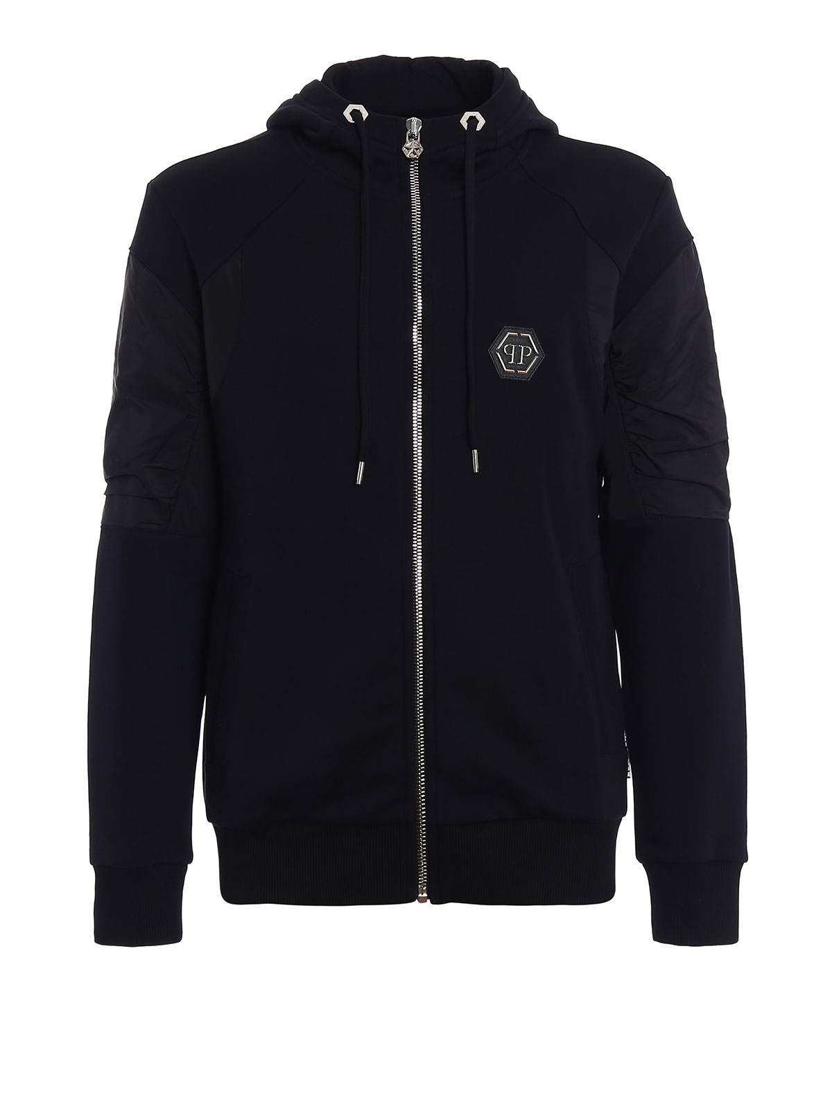 ansya hooded zip sweat jacket by philipp plein sweatshirts sweaters ikrix. Black Bedroom Furniture Sets. Home Design Ideas