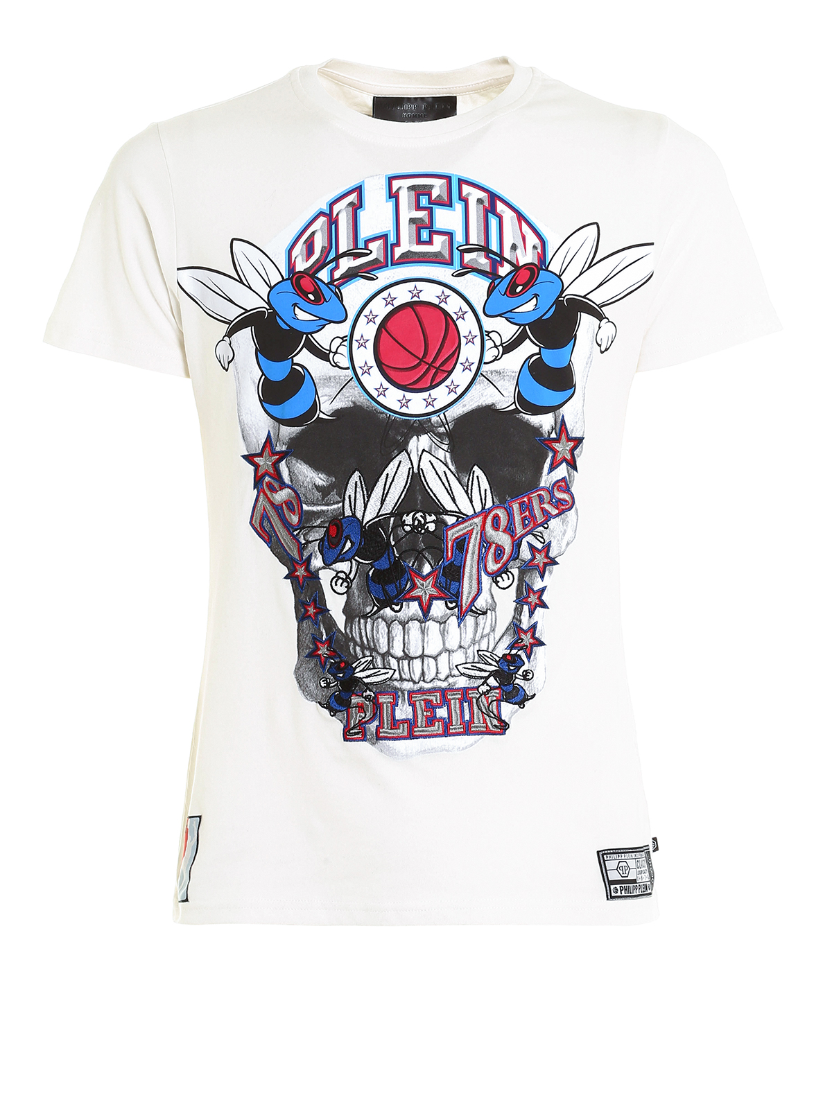 cadet short sleeve cotton t shirt by philipp plein t shirts ikrix. Black Bedroom Furniture Sets. Home Design Ideas