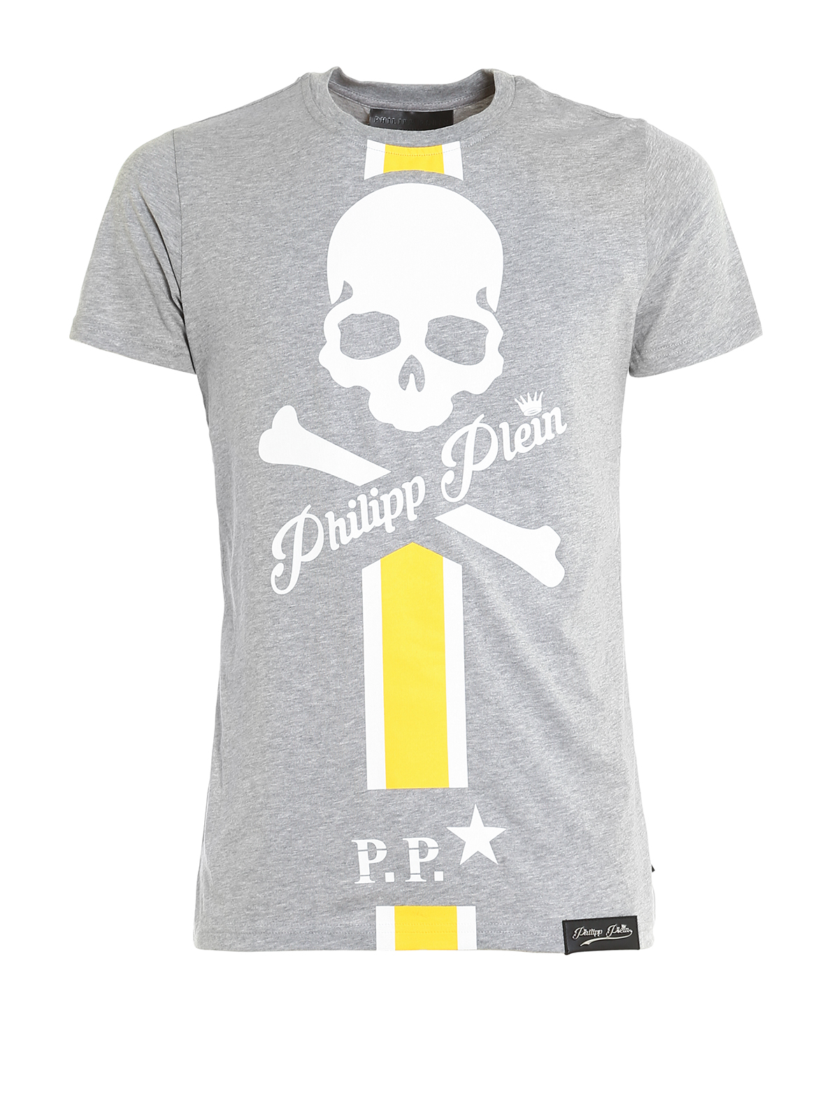 connect printed cotton t shirt by philipp plein t shirts ikrix. Black Bedroom Furniture Sets. Home Design Ideas