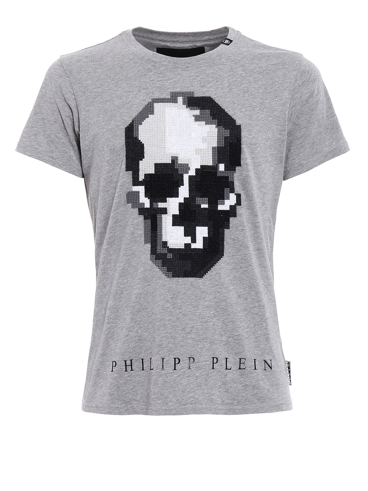 In China Sale Online Clearance Classic skull embroidered T-shirt - Black Philipp Plein Inexpensive kcgWQq0
