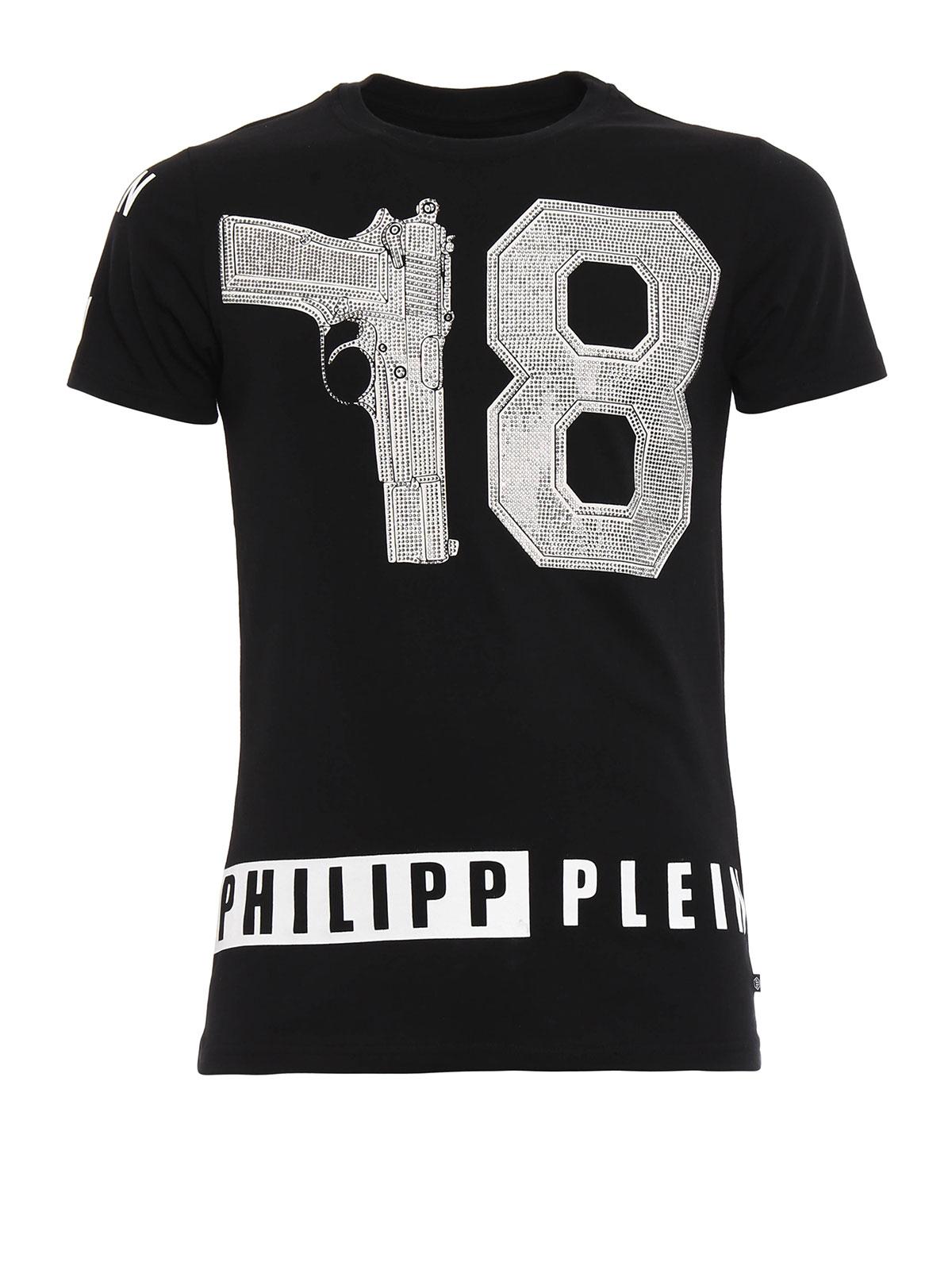 philipp plein t shirt hotel t shirt hm342541 02. Black Bedroom Furniture Sets. Home Design Ideas