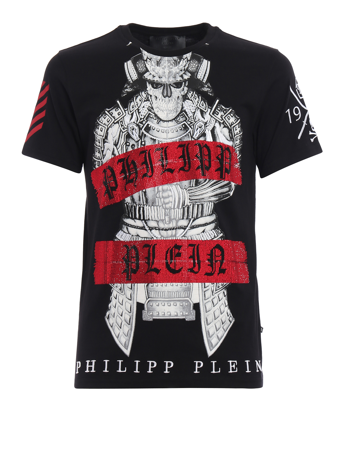 53787fb5c2 Philipp Plein - Kami skeleton samurai Tee - t-shirts - MTK0902 ...