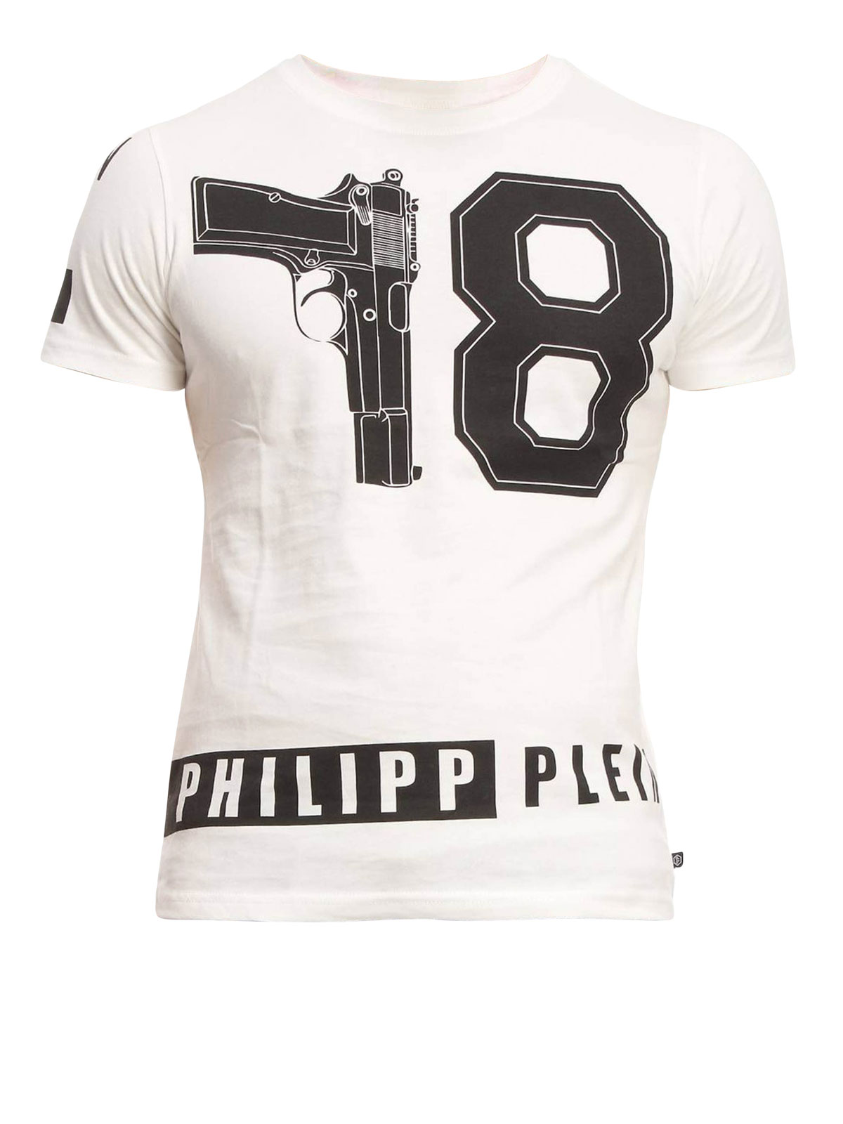 philipp plein philipp t shirt t shirts hm342542 01. Black Bedroom Furniture Sets. Home Design Ideas