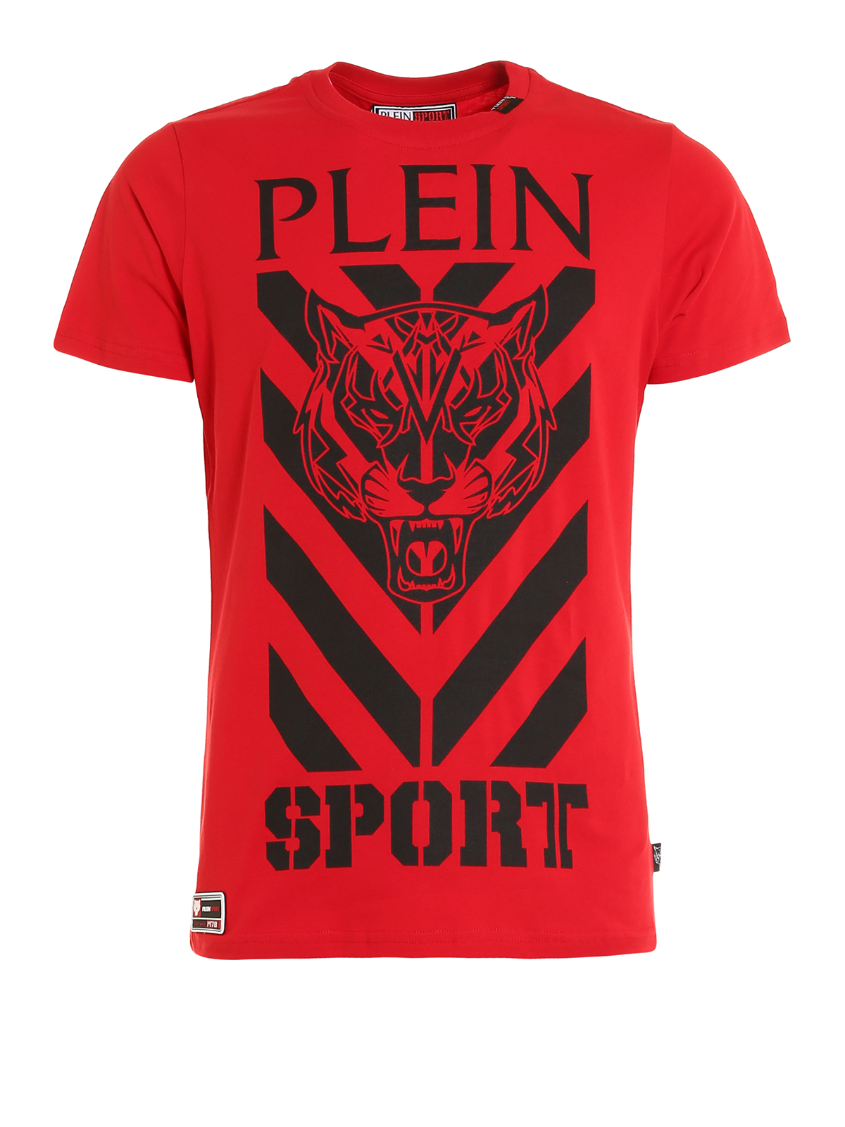 shooter cotton t shirt by philipp plein t shirts ikrix. Black Bedroom Furniture Sets. Home Design Ideas