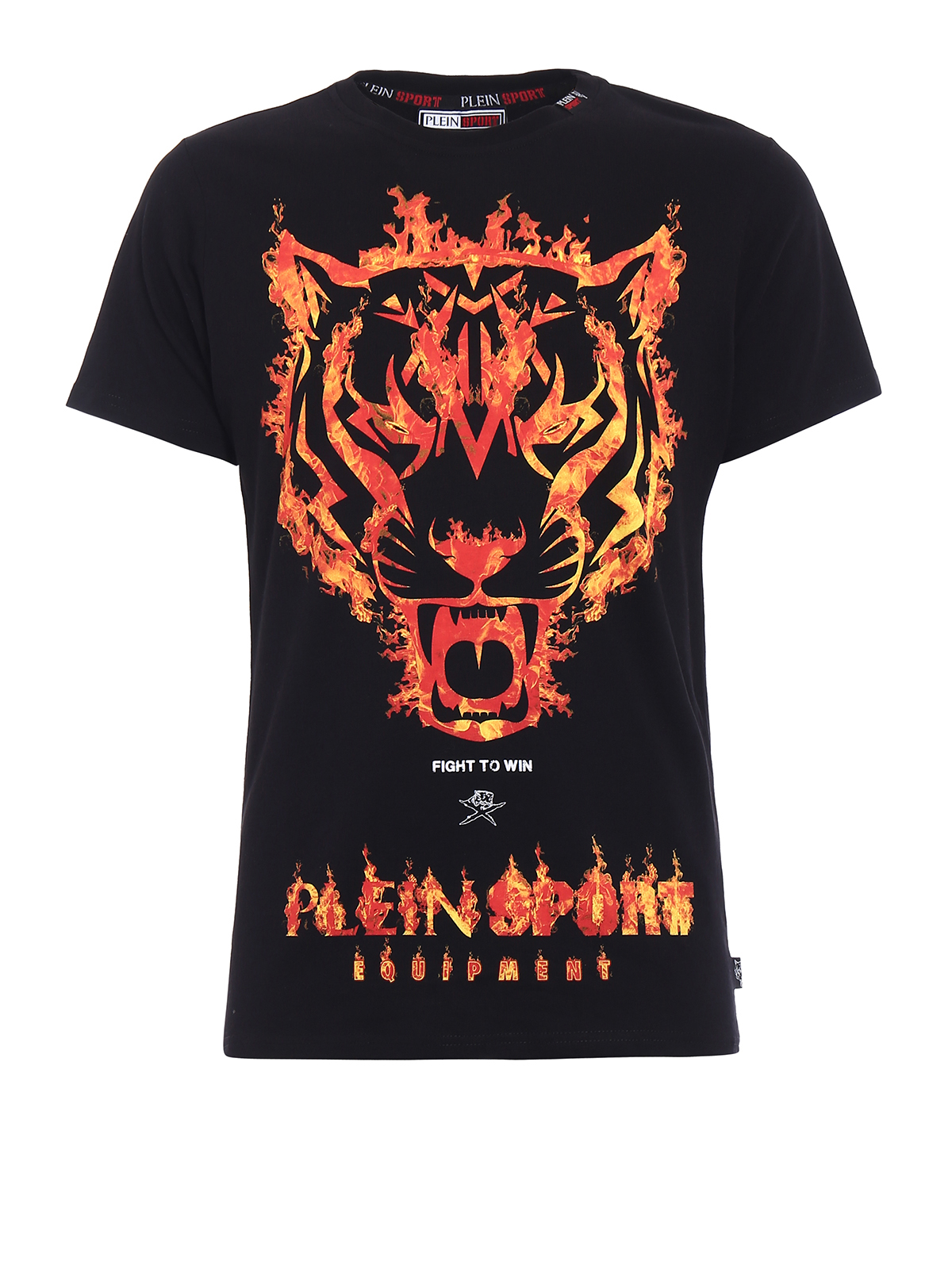 Philipp Plein Willie Tiger Print T Shirt T Shirts