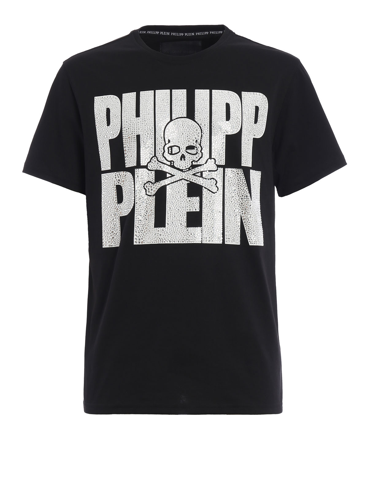yoriko embellished t shirt by philipp plein t shirts ikrix. Black Bedroom Furniture Sets. Home Design Ideas
