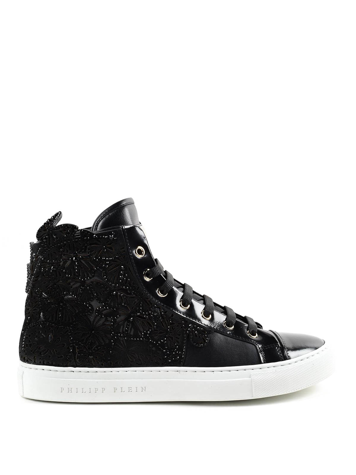 Philipp Plein High Top Sneakers Trainers Sw161459 1 02