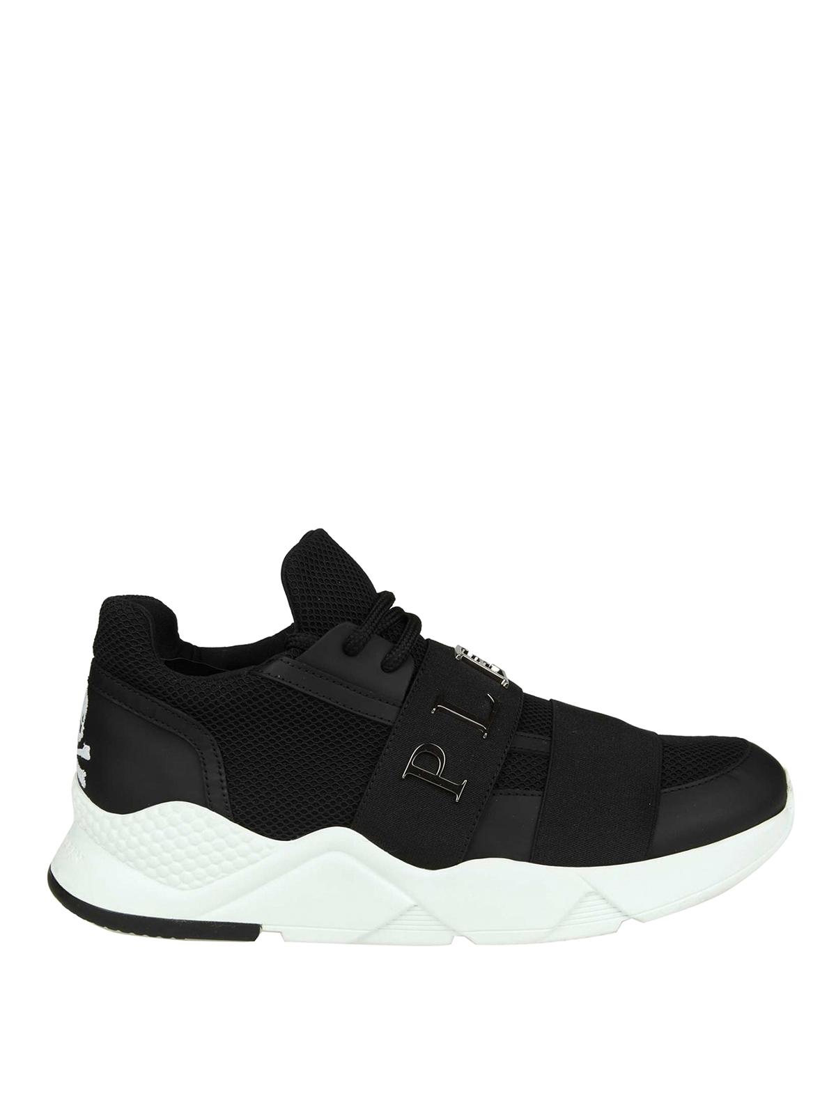 e4f2fd6862d Philipp Plein - Runner Statement black sneakers - trainers ...