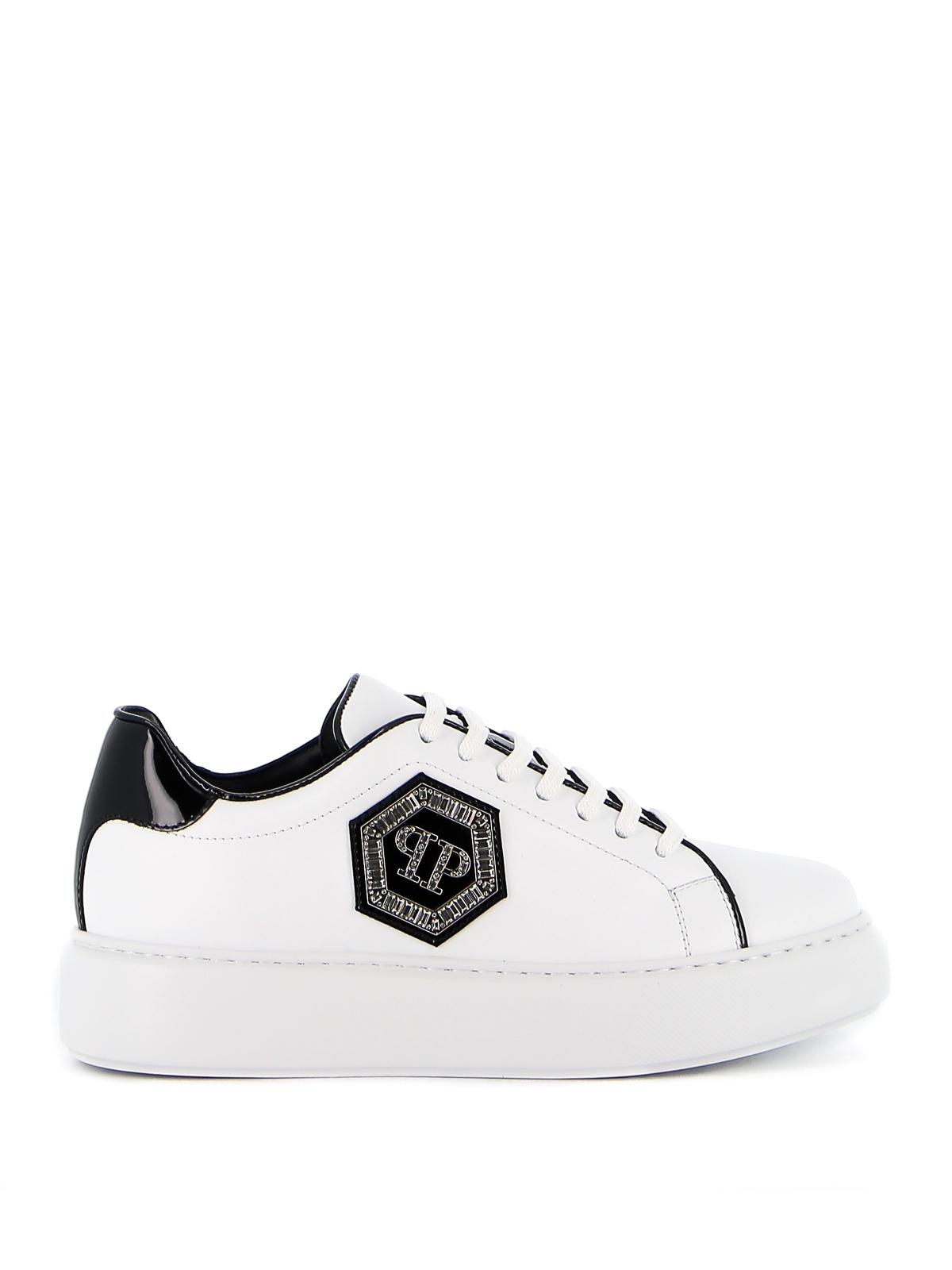 Philipp Plein Denims STONES HEXAGON SNEAKERS