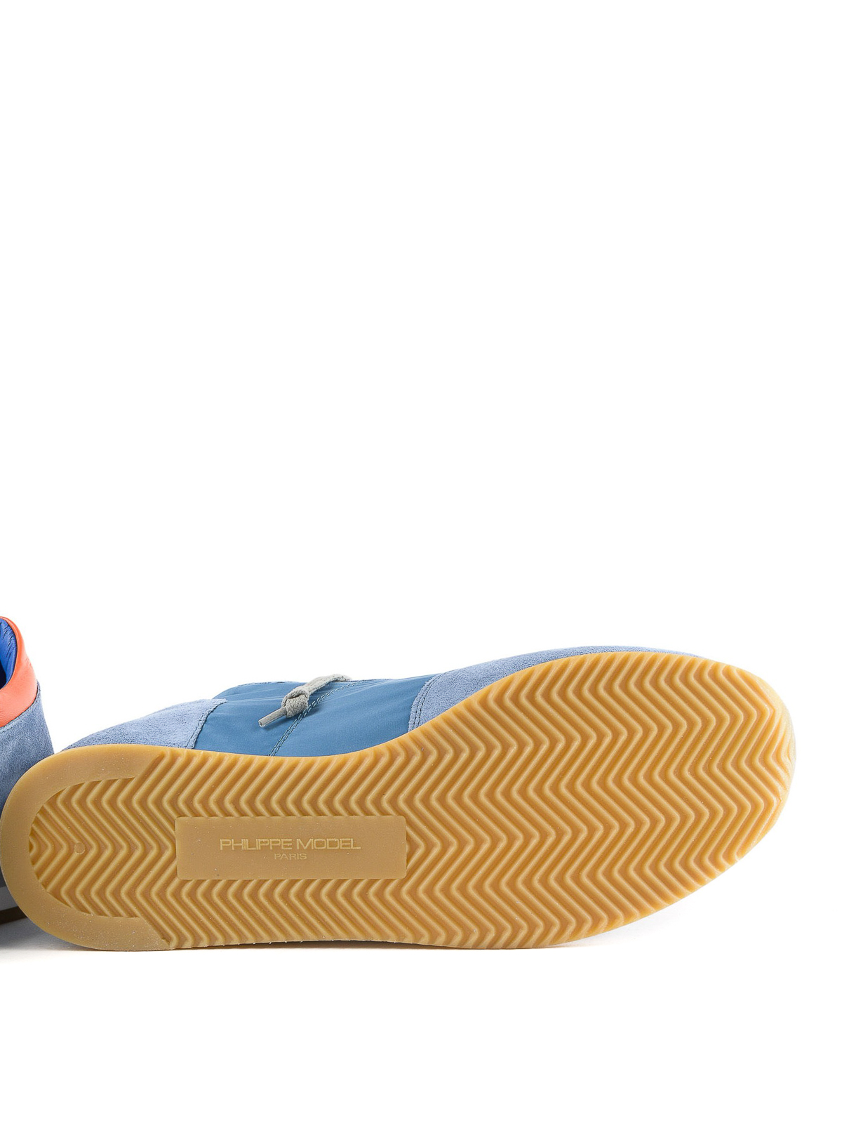 Philippe Model - Tropez light blue sneakers - trainers - TRLU 1104 af9a02ac470