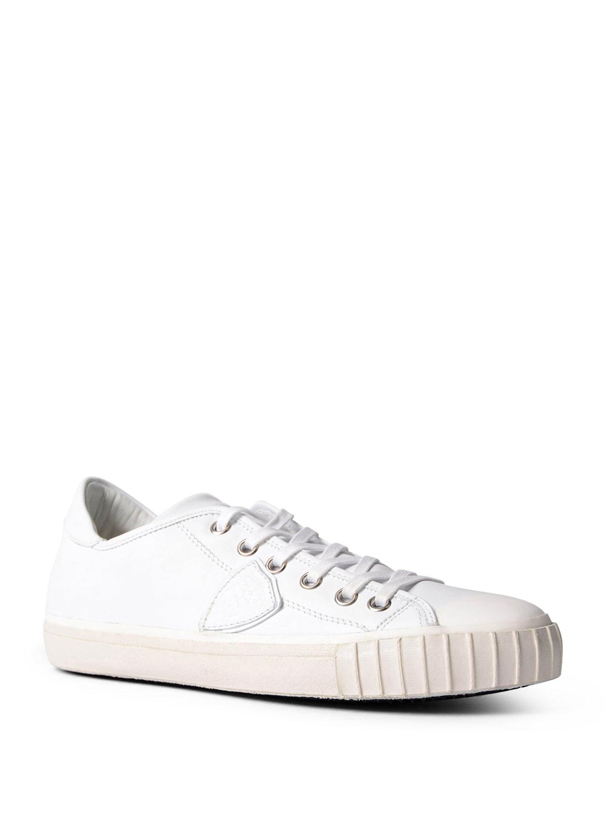 Sneaker Low Gare Leder Herren Sneaker Top Shop Philippe