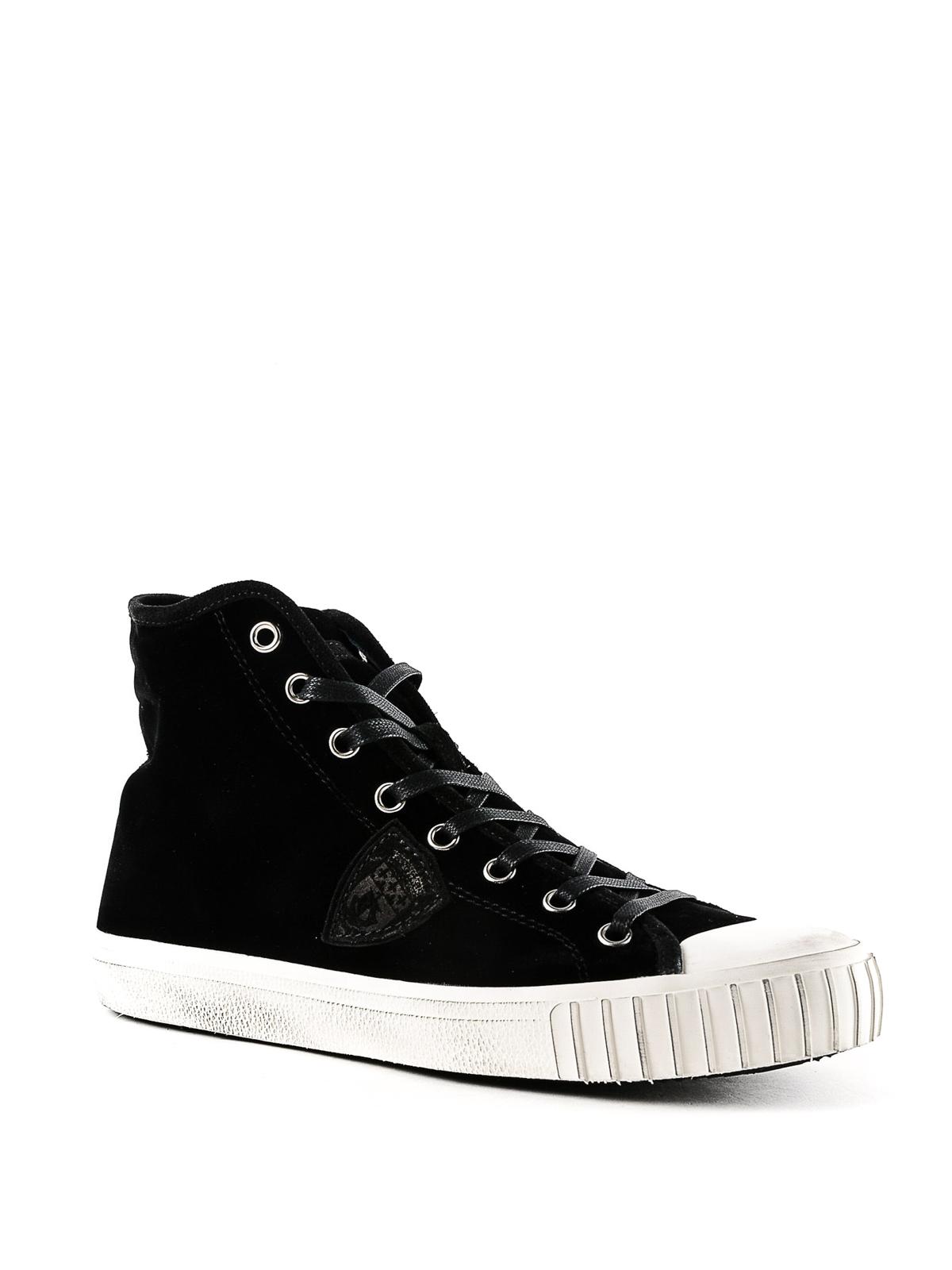 Sneakers Grhuev08 Velvet Philippe Model Sneaker En Pn80wkO
