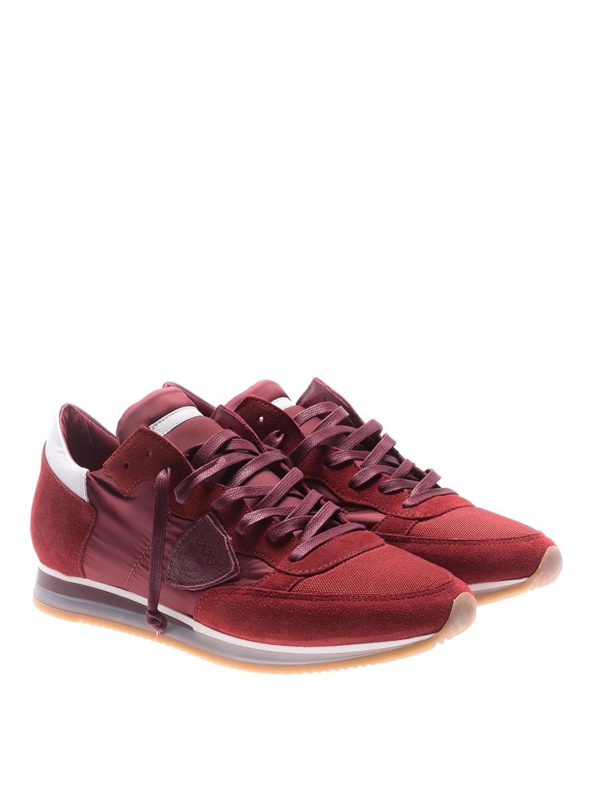 PHILIPPE MODEL  sneakers online - Sneaker basse Tropez Mondial rosse 933da82a725