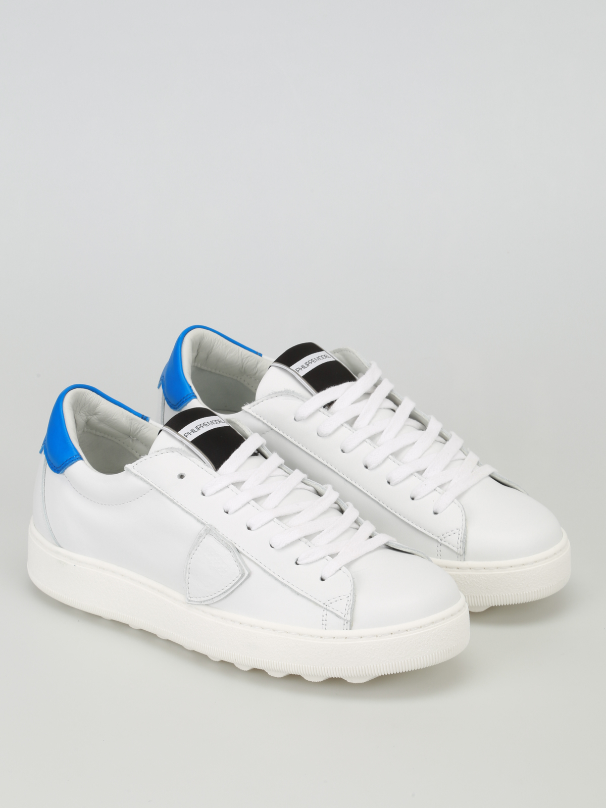 Blue White Sneakers Vblu Model Trainers Philippe And Madeleine EIbe9WDH2Y