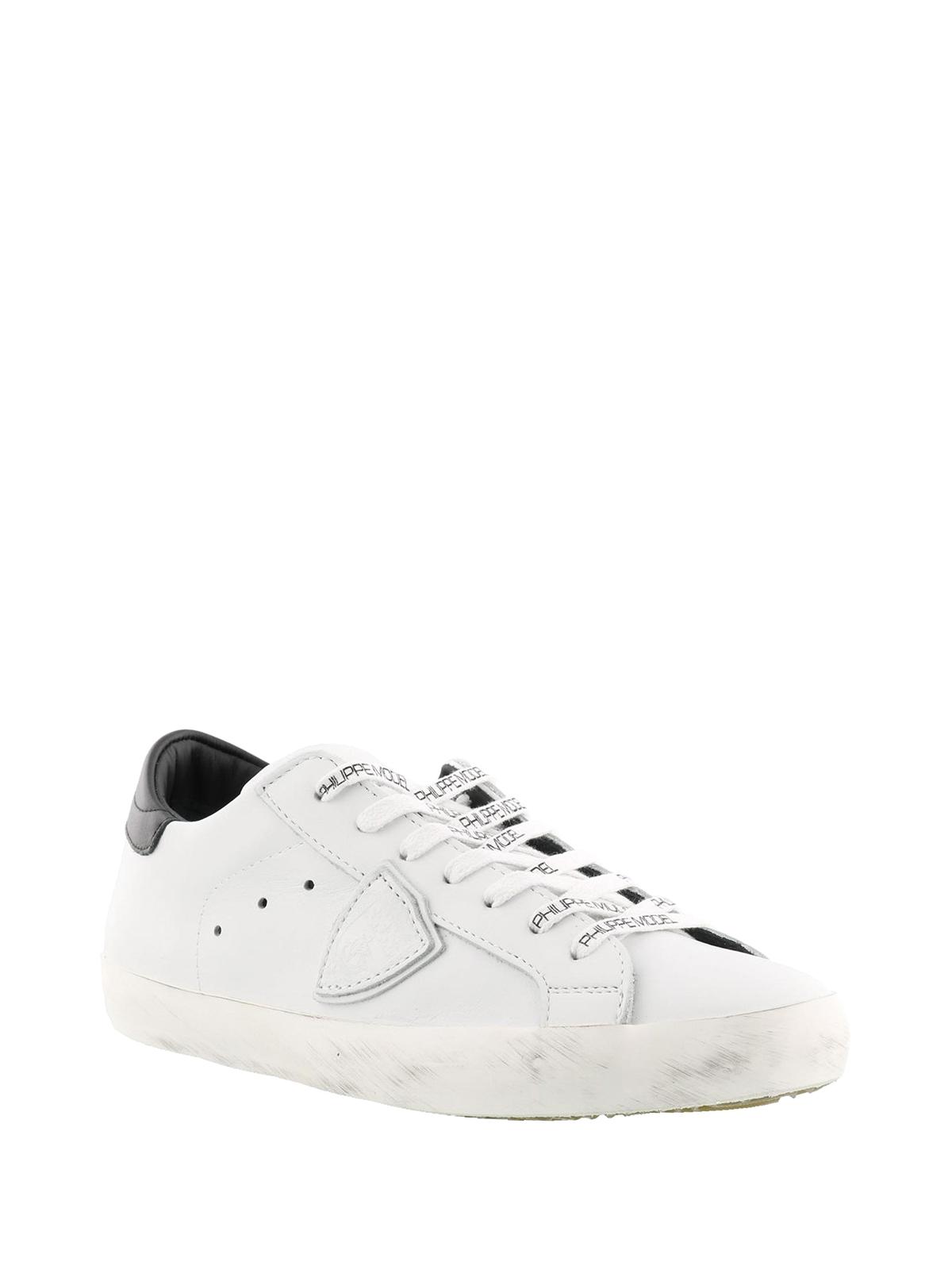 Model Philippe Sneaker Paris Con Pelle In Sneakers Logo V003 Cllu dCCqrwf 18bdeb65c61