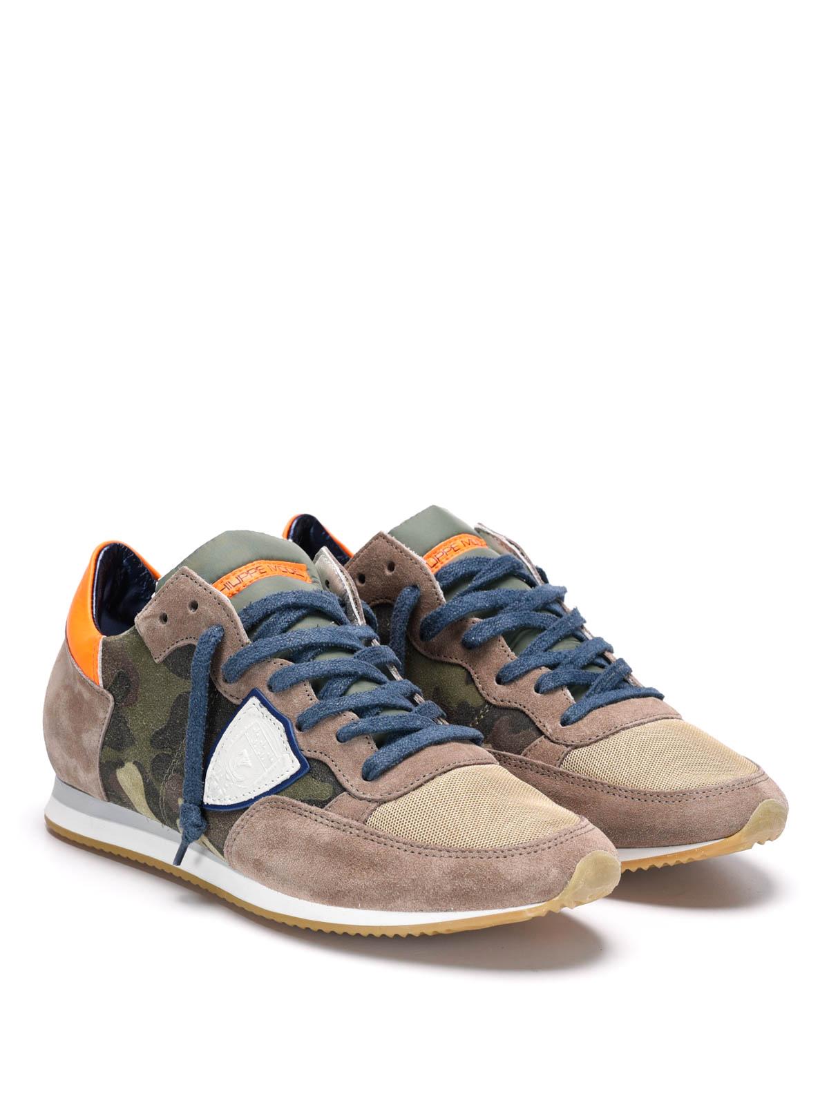40b1d6cc6c0 PHILIPPE MODEL  Chaussures de sport online - Tropez camouflage sneakers