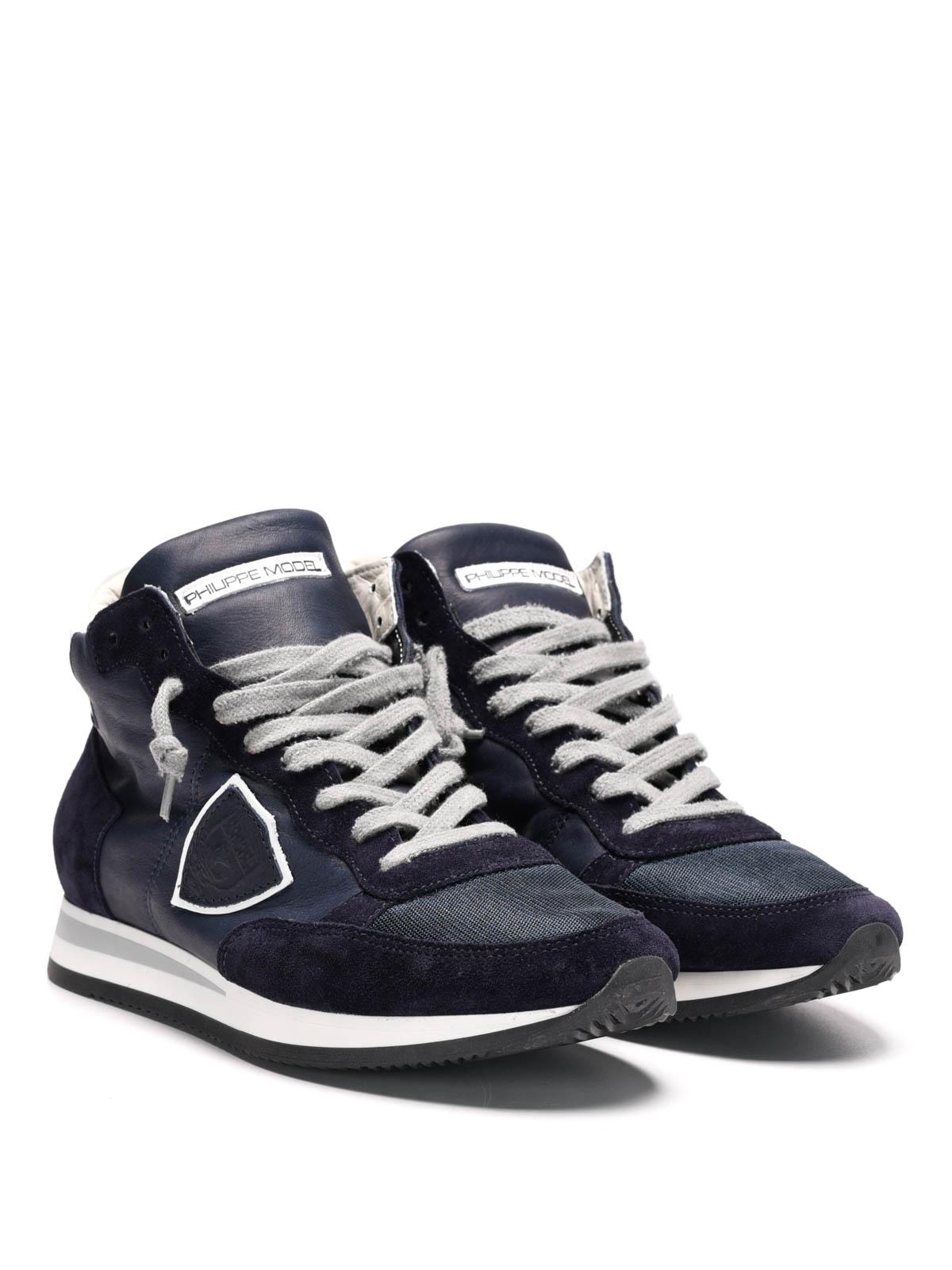 Philippe Sneaker Trhu Model Tropez Blau Wl39 BoerQdCxW