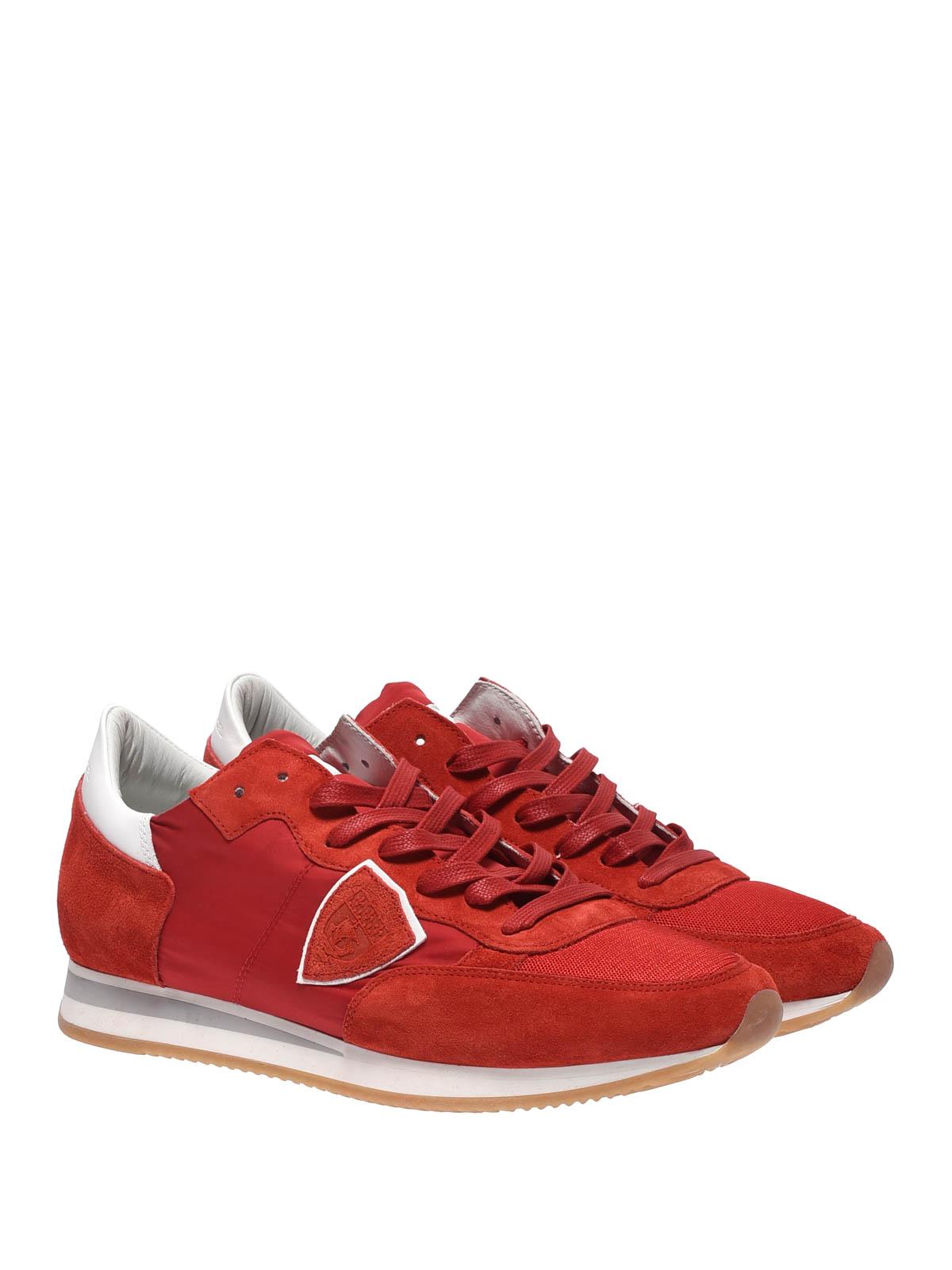 PHILIPPE MODEL  sneakers online - Sneaker Tropez Mondial basse rosse 8ca43251e0f