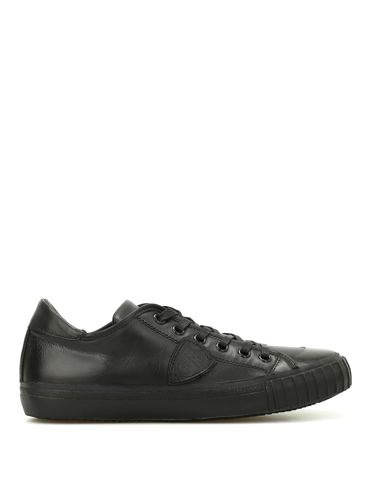 gare low top leather sneakers by philippe model trainers ikrix. Black Bedroom Furniture Sets. Home Design Ideas