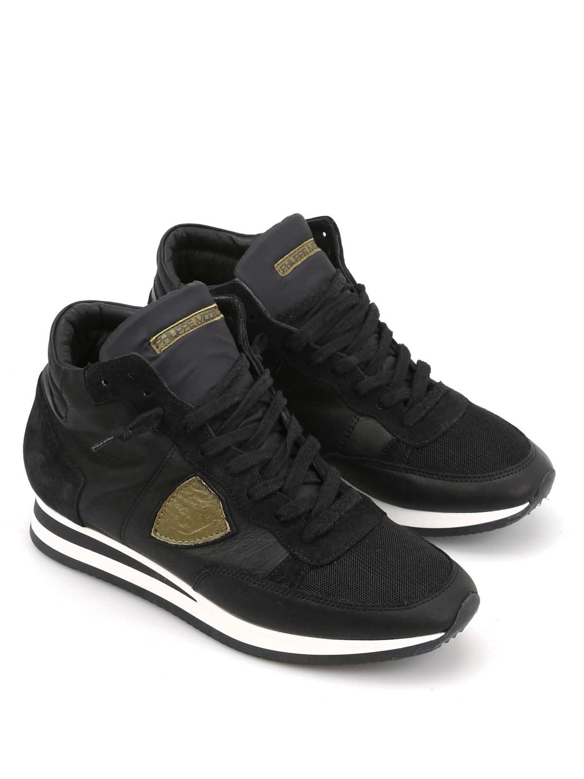 Tropez platform sneakers - Black Philippe Model ETG0qImXK