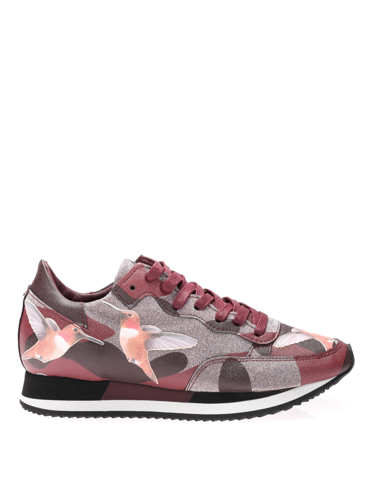 paradis camouflage sneakers by philippe model trainers ikrix. Black Bedroom Furniture Sets. Home Design Ideas