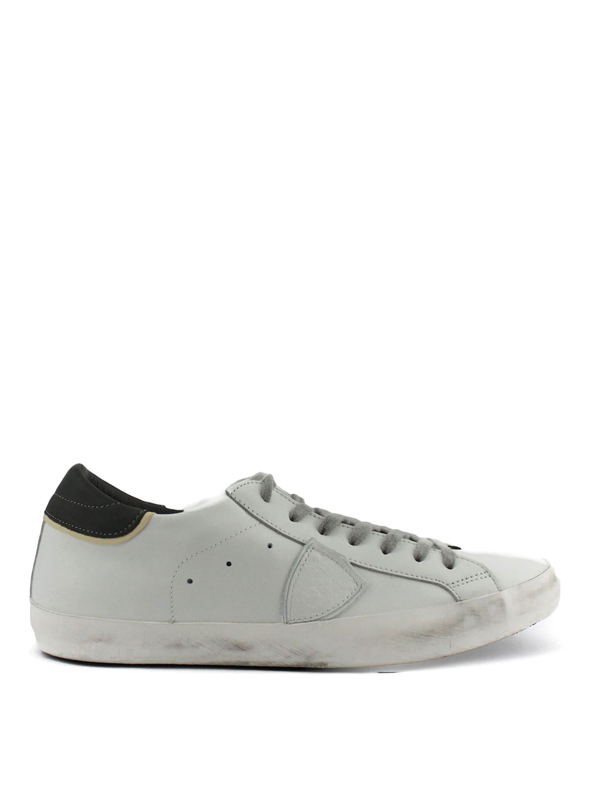 paris leather sneakers by philippe model trainers ikrix. Black Bedroom Furniture Sets. Home Design Ideas