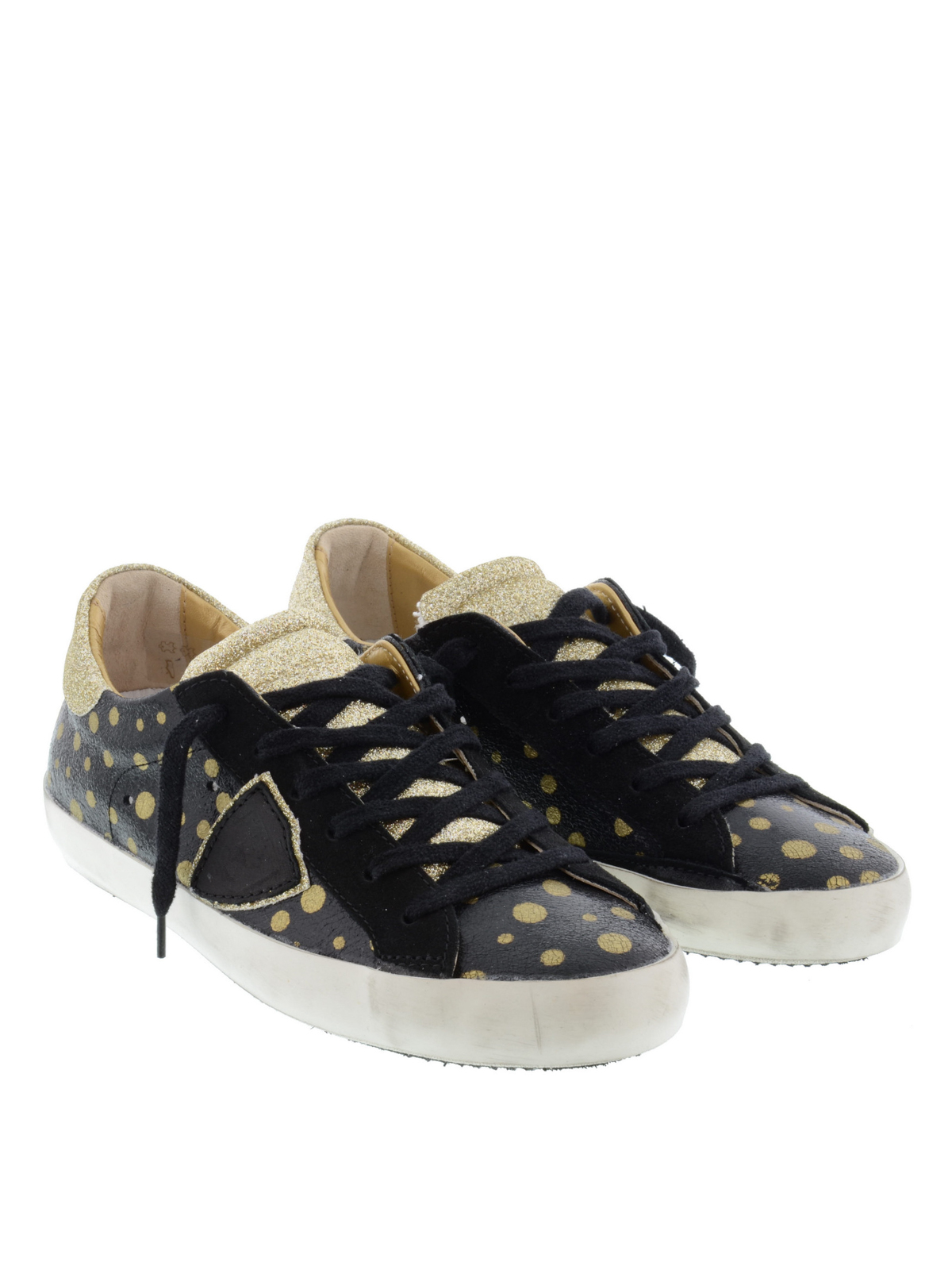 polka dot sneakers by philippe model trainers ikrix. Black Bedroom Furniture Sets. Home Design Ideas