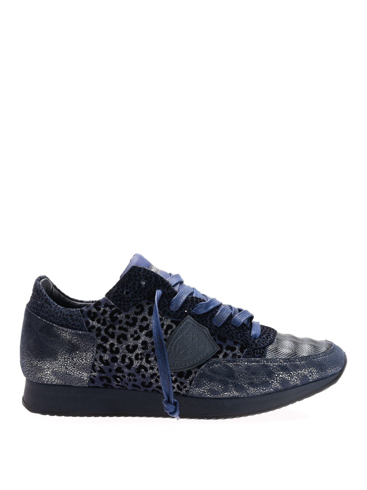 tropez animal print sneakers by philippe model trainers ikrix. Black Bedroom Furniture Sets. Home Design Ideas