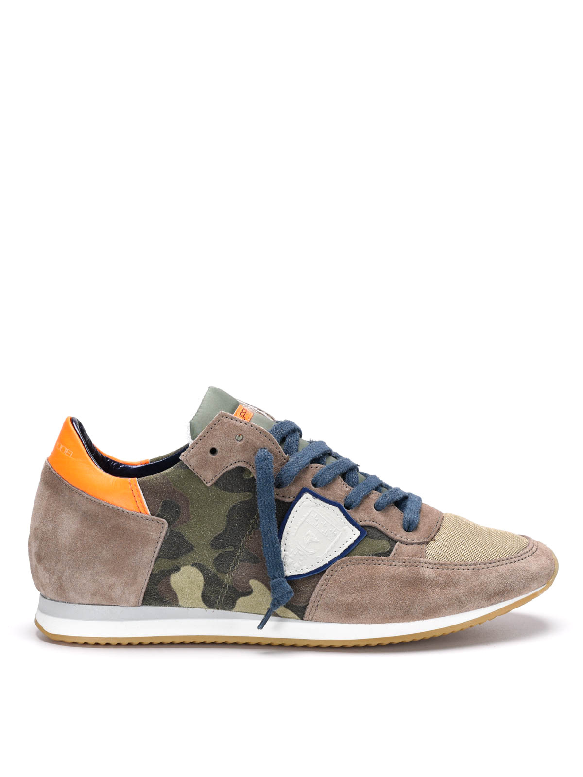 tropez camouflage sneakers by philippe model trainers ikrix. Black Bedroom Furniture Sets. Home Design Ideas